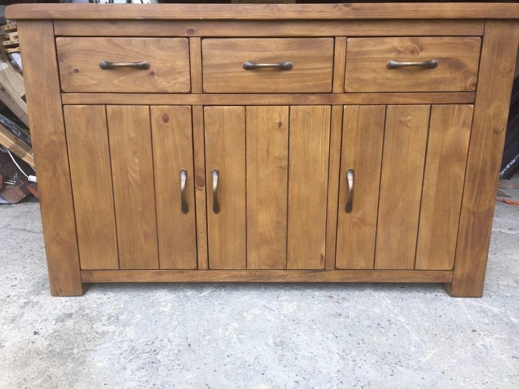 Brand New Arizona 3 Door 3 Drawer Sideboard | In Batley, West regarding White Wash 3-Door 3-Drawer Sideboards (Image 3 of 30)