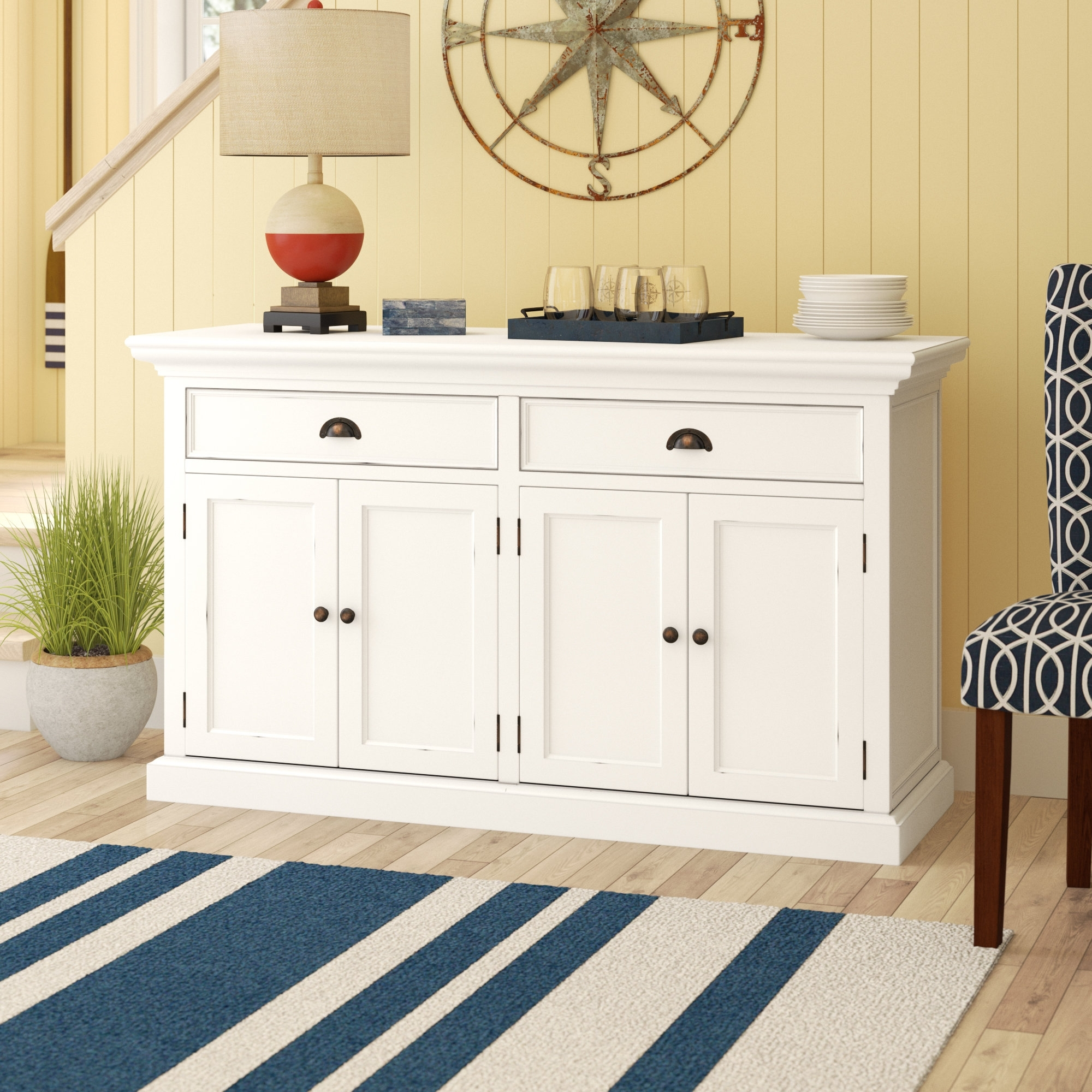 Breakwater Bay Fairmead Sideboard & Reviews | Wayfair in Parrish Sideboards (Image 7 of 30)