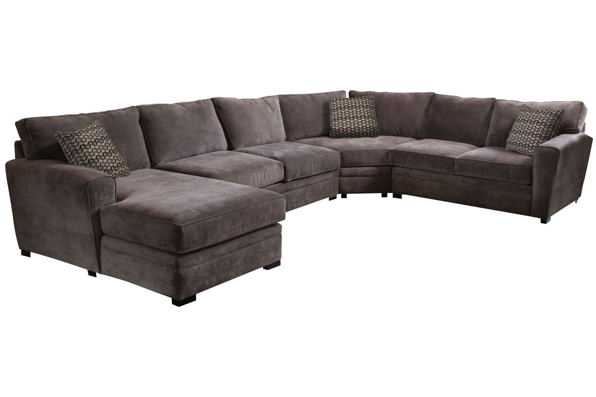 Breeze Right Arm Facing Sectional At Gardner-White within Cosmos Grey 2 Piece Sectionals With Raf Chaise (Image 4 of 30)