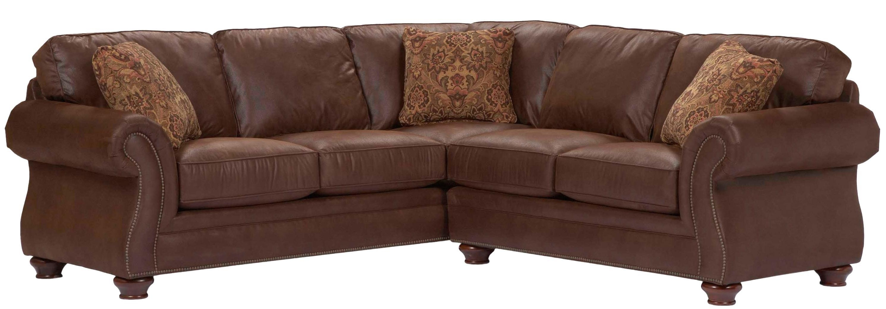 Broyhill Furniture Laramie 2 Piece Corner Sectional Sofa - Ahfa intended for Blaine 4 Piece Sectionals (Image 8 of 30)