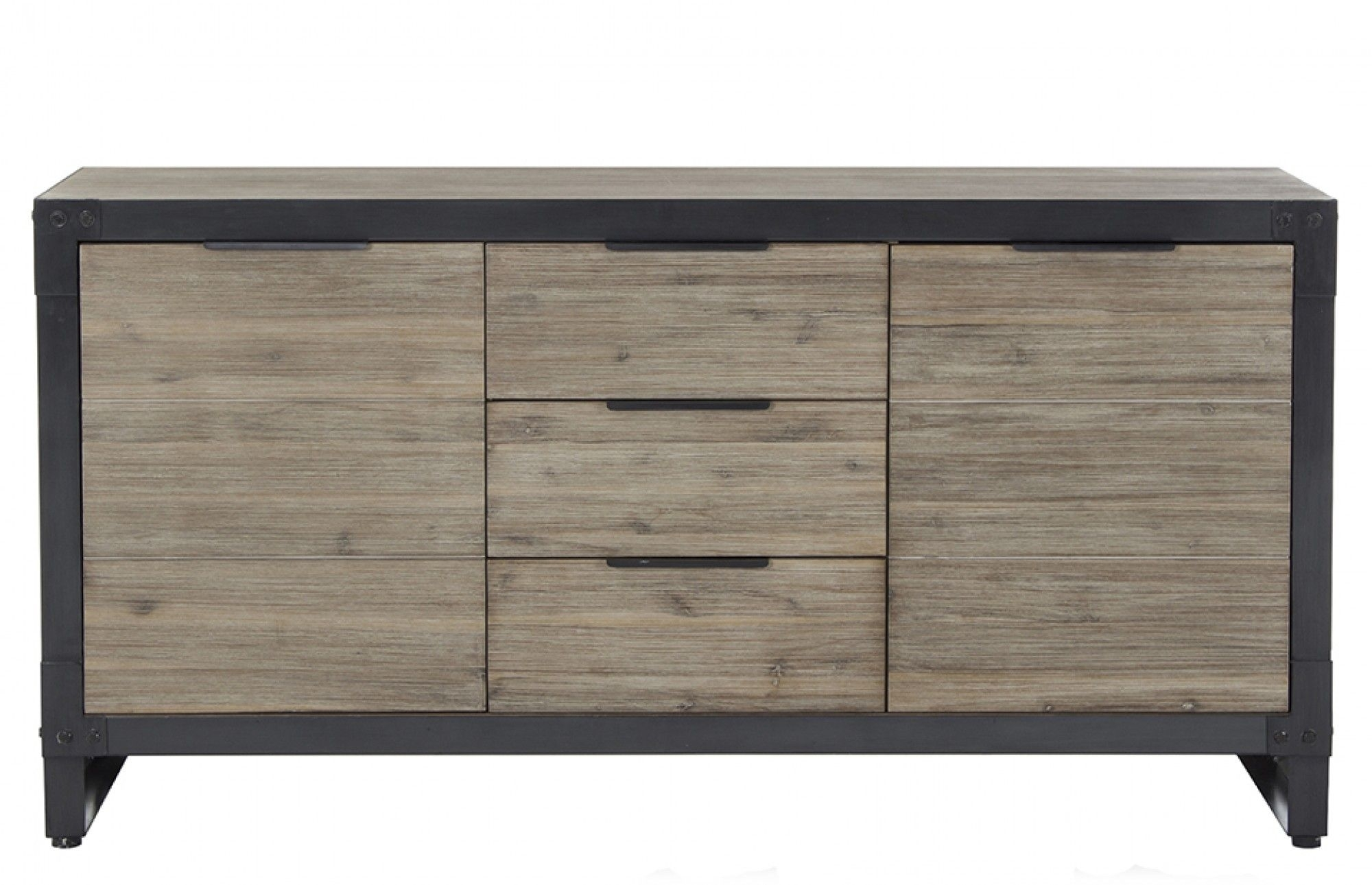 Brunel - Sideboard | Pinterest | Drawers, Hardware And Industrial pertaining to 3-Drawer/2-Door White Wash Sideboards (Image 2 of 30)