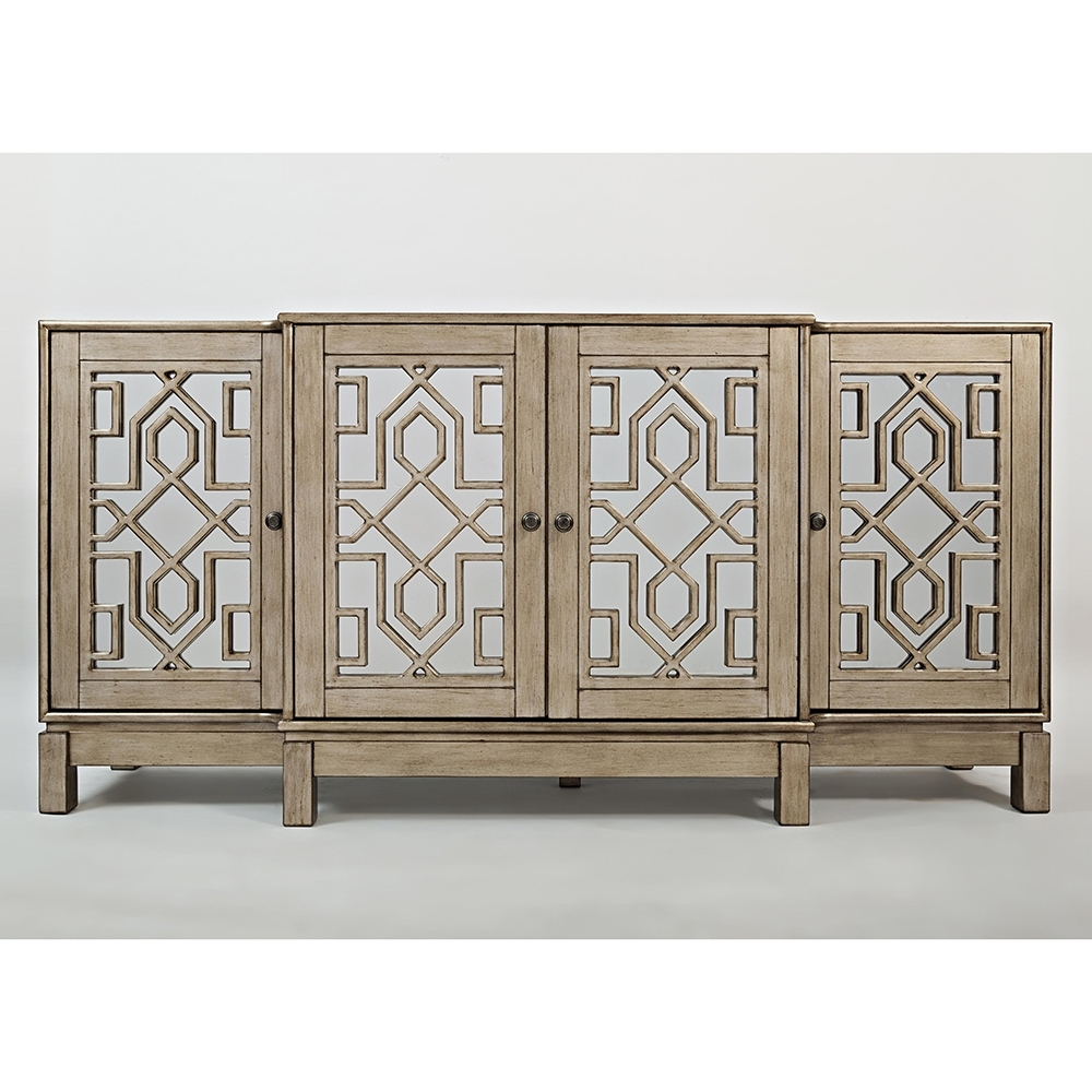 Buffet & Serving Sideboards At Dynamic Home Decor throughout Dark Smoked Oak With White Marble Top Sideboards (Image 5 of 30)