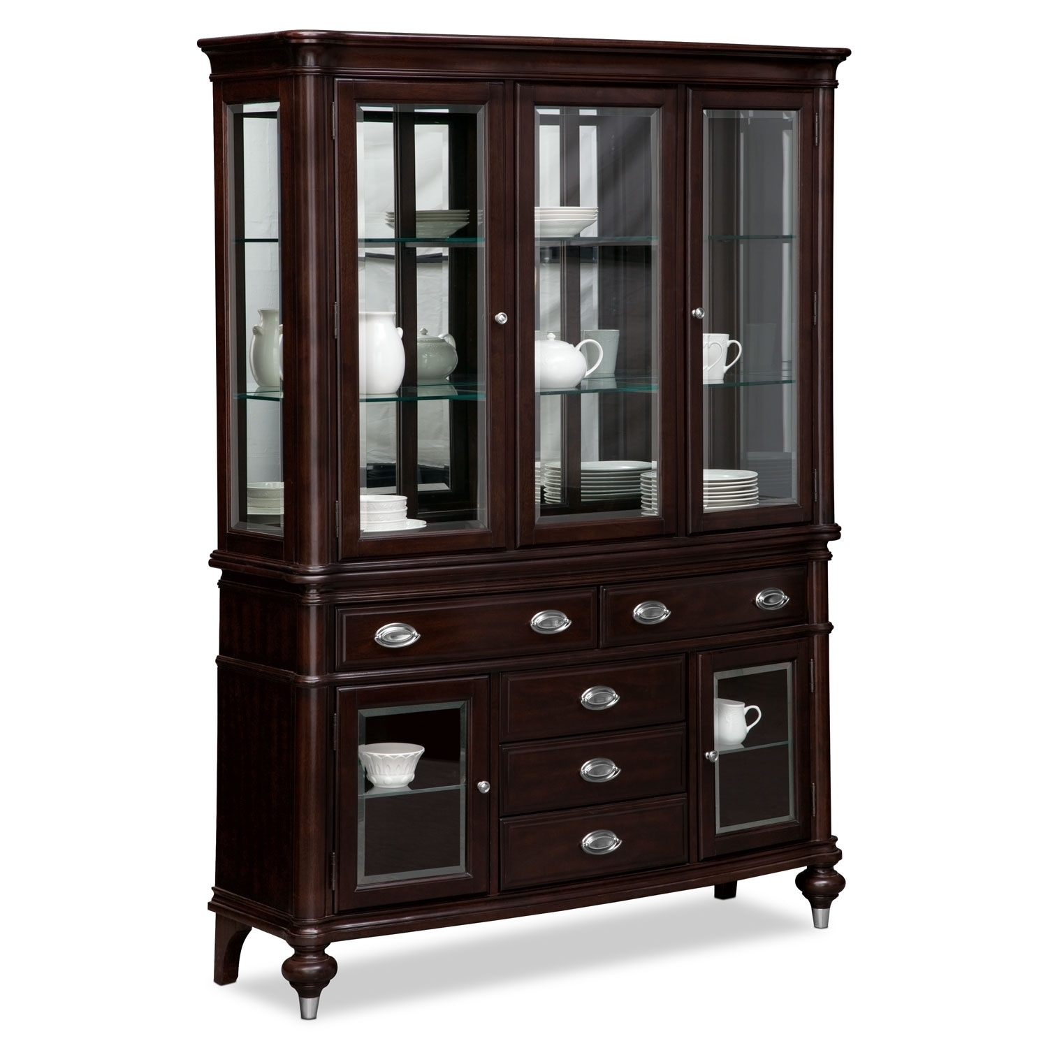 Buffet & Sideboard Cabinets | Value City with regard to Brown Wood 72 Inch Sideboards (Image 7 of 30)