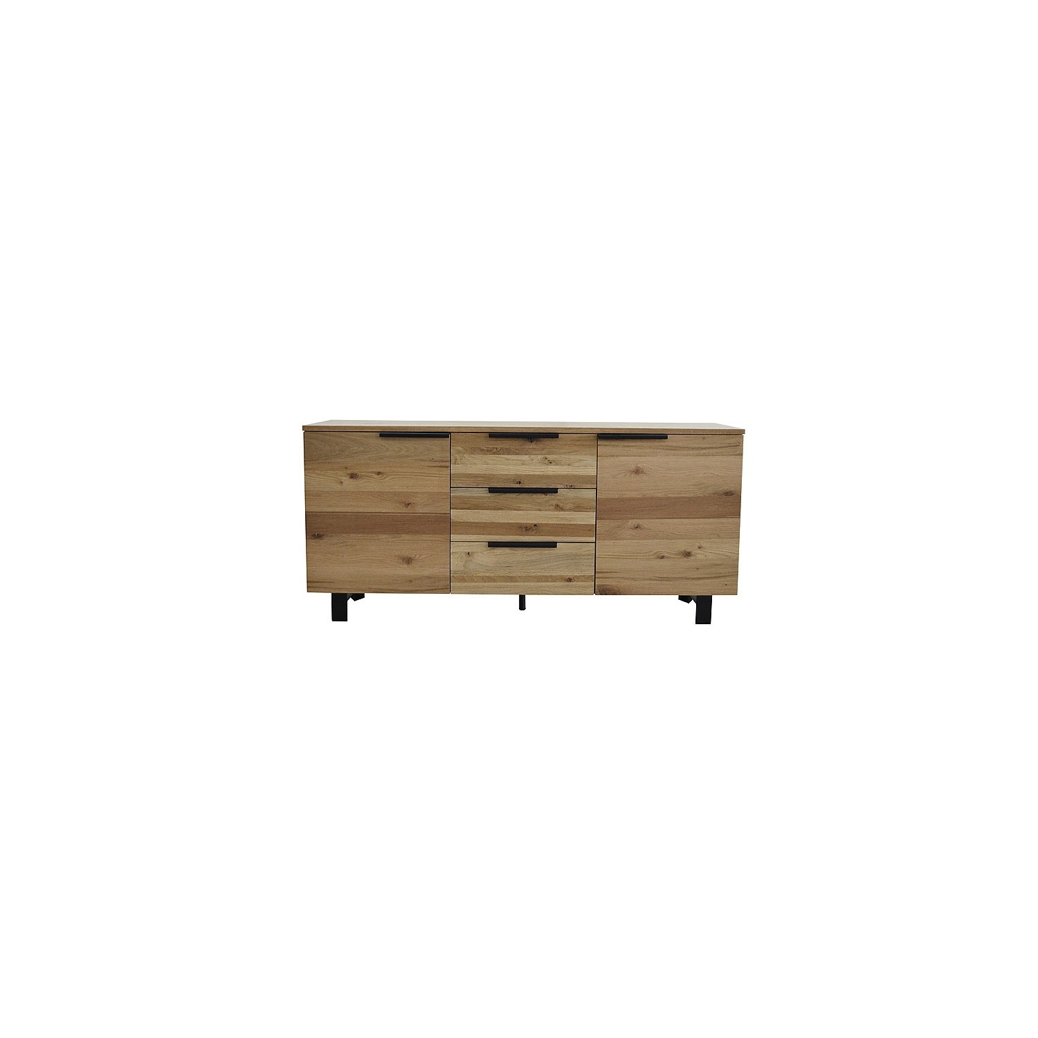 Buffets in 4-Door 3-Drawer White Wash Sideboards (Image 3 of 30)