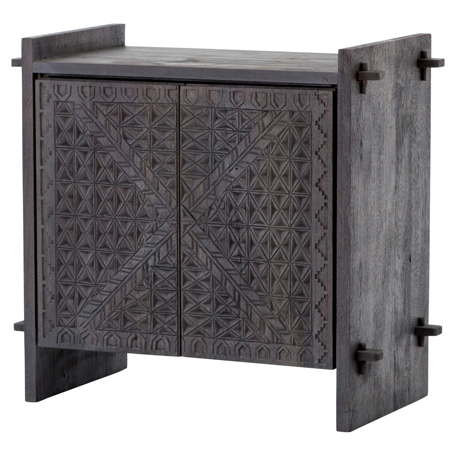Buffets & Sideboards | Kathy Kuo Home Pertaining To Metal Framed Reclaimed Wood Sideboards (View 21 of 30)
