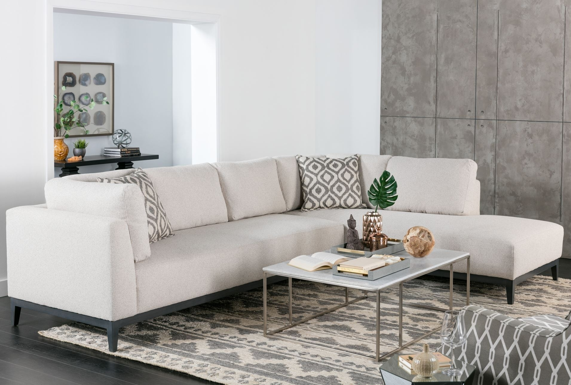 Bunch Ideas Of Sectional Sofa With 2 Chaises For Your Avalon 2 Piece with regard to Aspen 2 Piece Sectionals With Laf Chaise (Image 11 of 30)