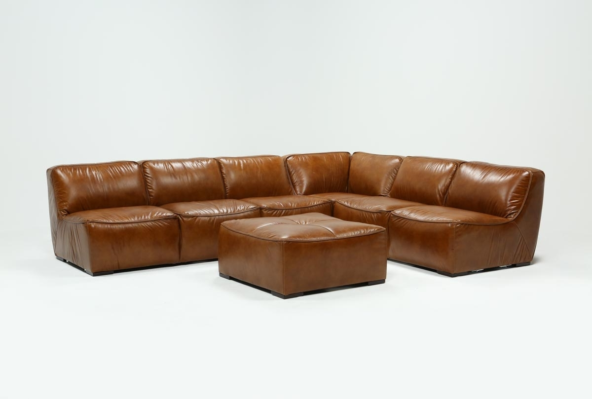 Featured Photo of Burton Leather 3 Piece Sectionals