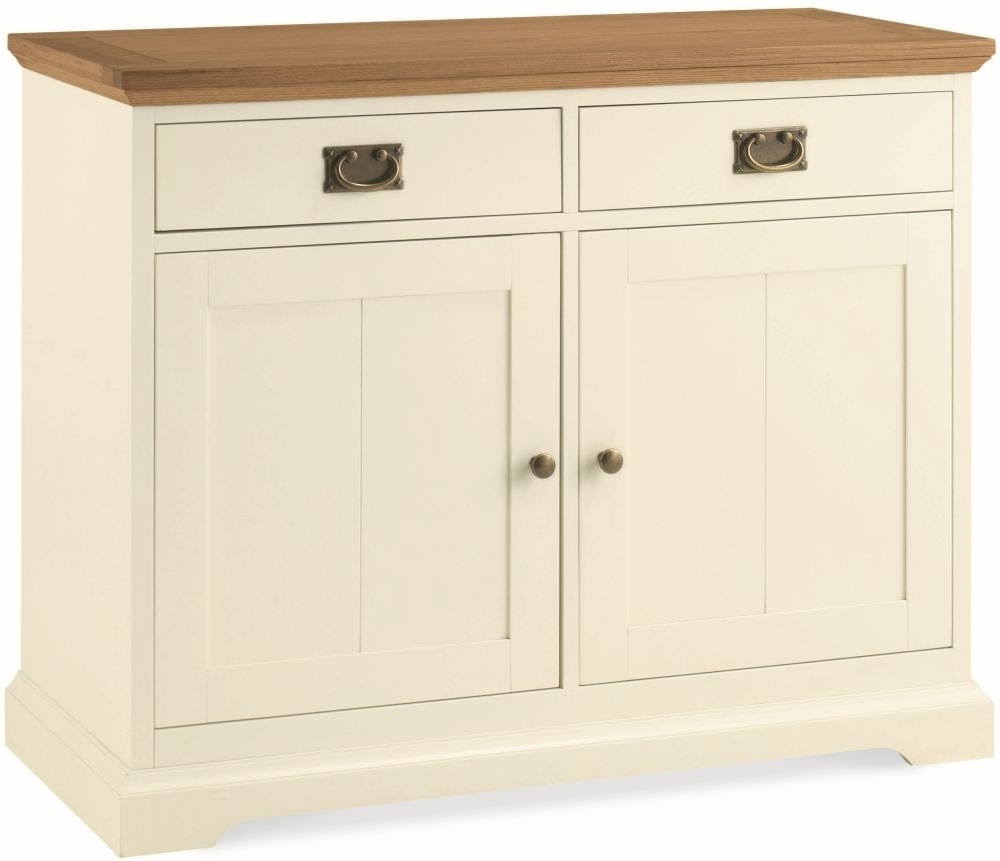 Buy Bentley Designs Provence Two Tone 2 Door Narrow Sideboard Online pertaining to Aged Mirrored 2 Door Sideboards (Image 9 of 30)