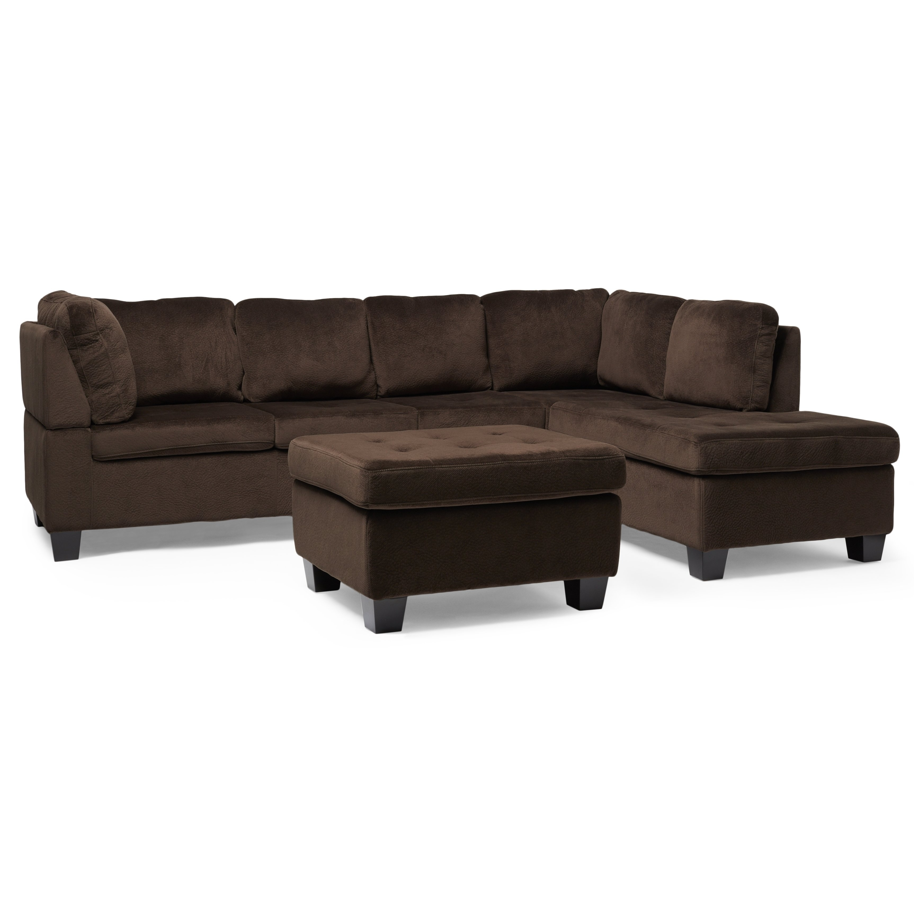 Buy Brown Sectional Sofas Online At Overstock | Our Best Living With Regard To Sierra Down 3 Piece Sectionals With Laf Chaise (View 7 of 30)