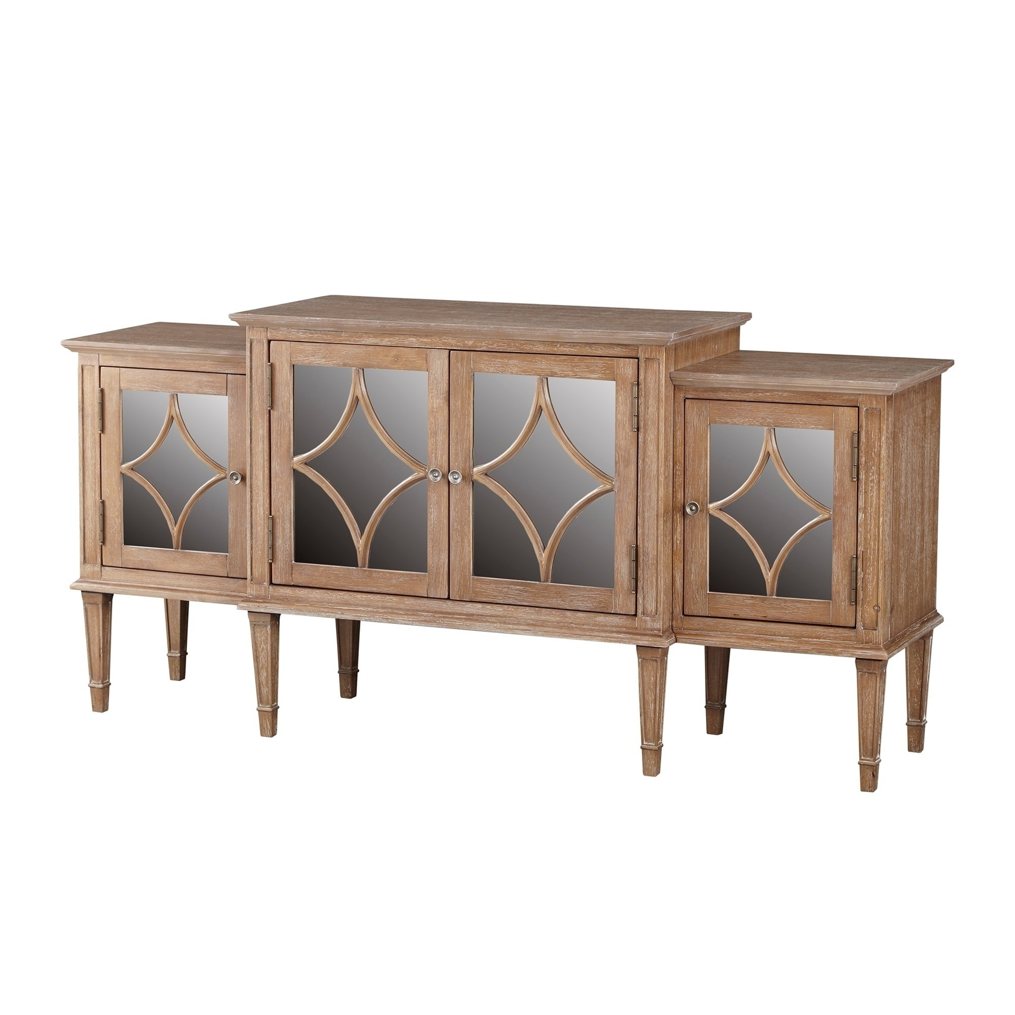 Buy Buffets, Sideboards & China Cabinets Online At Overstock pertaining to Light Brown Reclaimed Elm & Pine 84 Inch Sideboards (Image 6 of 30)