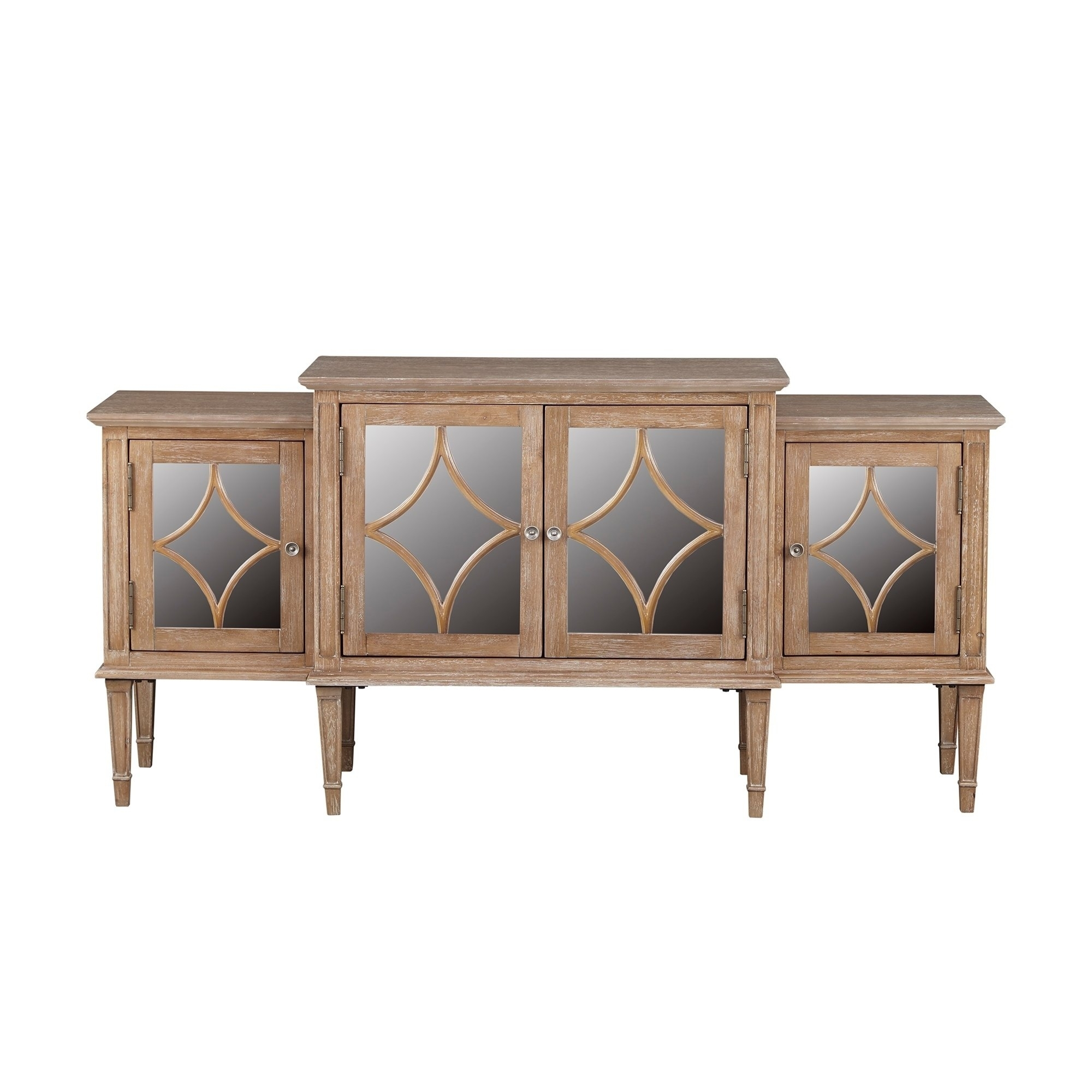 Buy Buffets, Sideboards & China Cabinets Online At Overstock within Light Brown Reclaimed Elm & Pine 84 Inch Sideboards (Image 7 of 30)