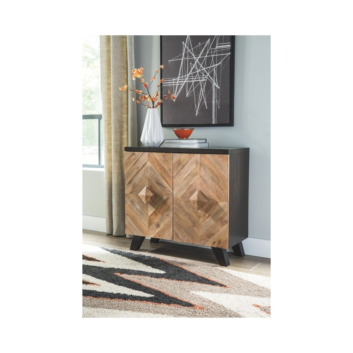 Buy Natural Finish, Entryway Table Online At Overstock | Our within Mandara 3-Drawer 2-Door Sideboards (Image 7 of 30)