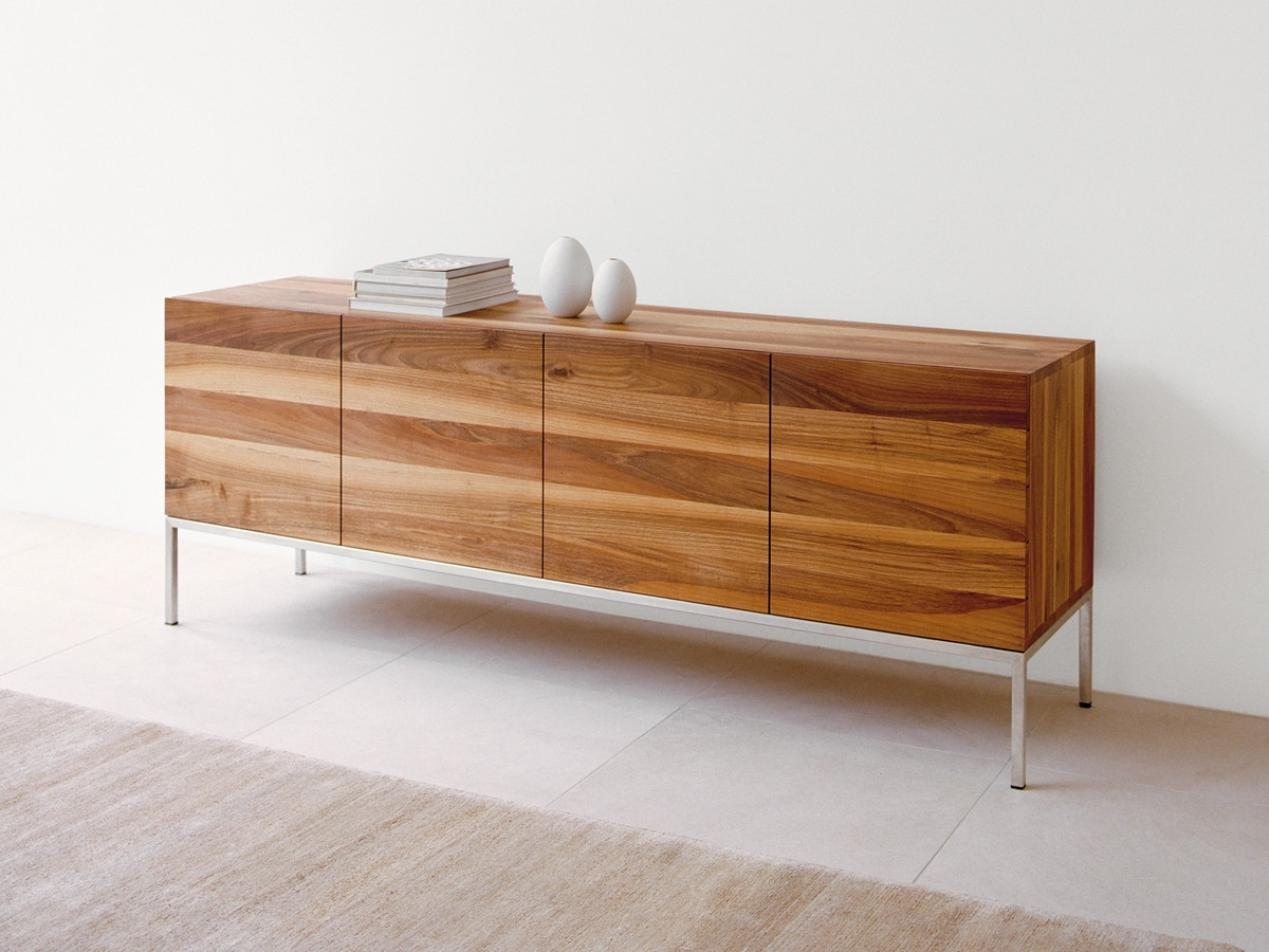 Buy The E15 Sb02 Farah Sideboard Walnut At Nest.co.uk pertaining to Walnut Finish Contempo Sideboards (Image 6 of 30)