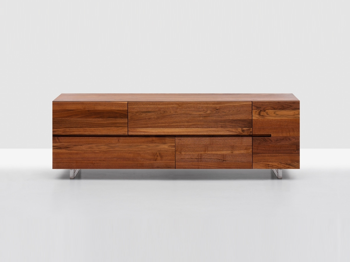 Buy The Zeitraum Low Sideboard At Nest.co.uk regarding Walnut Small Sideboards (Image 7 of 30)