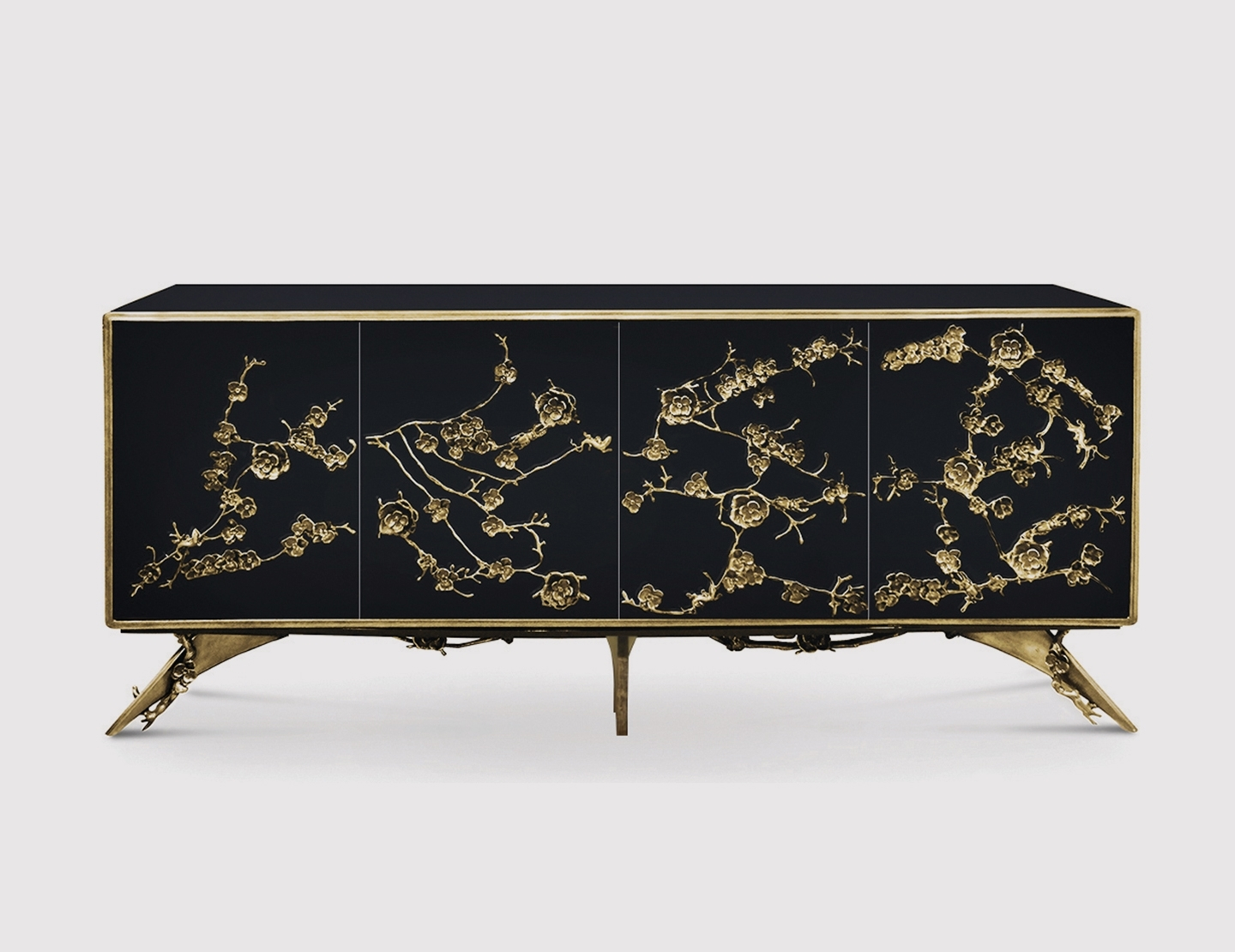 Cabinet Spellboundkoket with regard to Aged Brass Sideboards (Image 4 of 30)