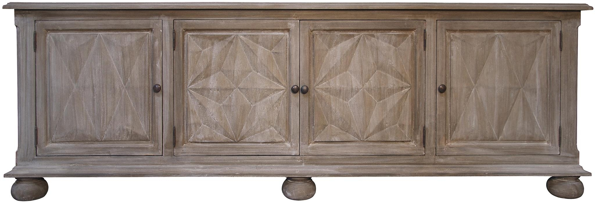 Cabinets, Consoles & Sofa Tables | Htgt Furniture inside Gunmetal Perforated Brass Sideboards (Image 8 of 30)