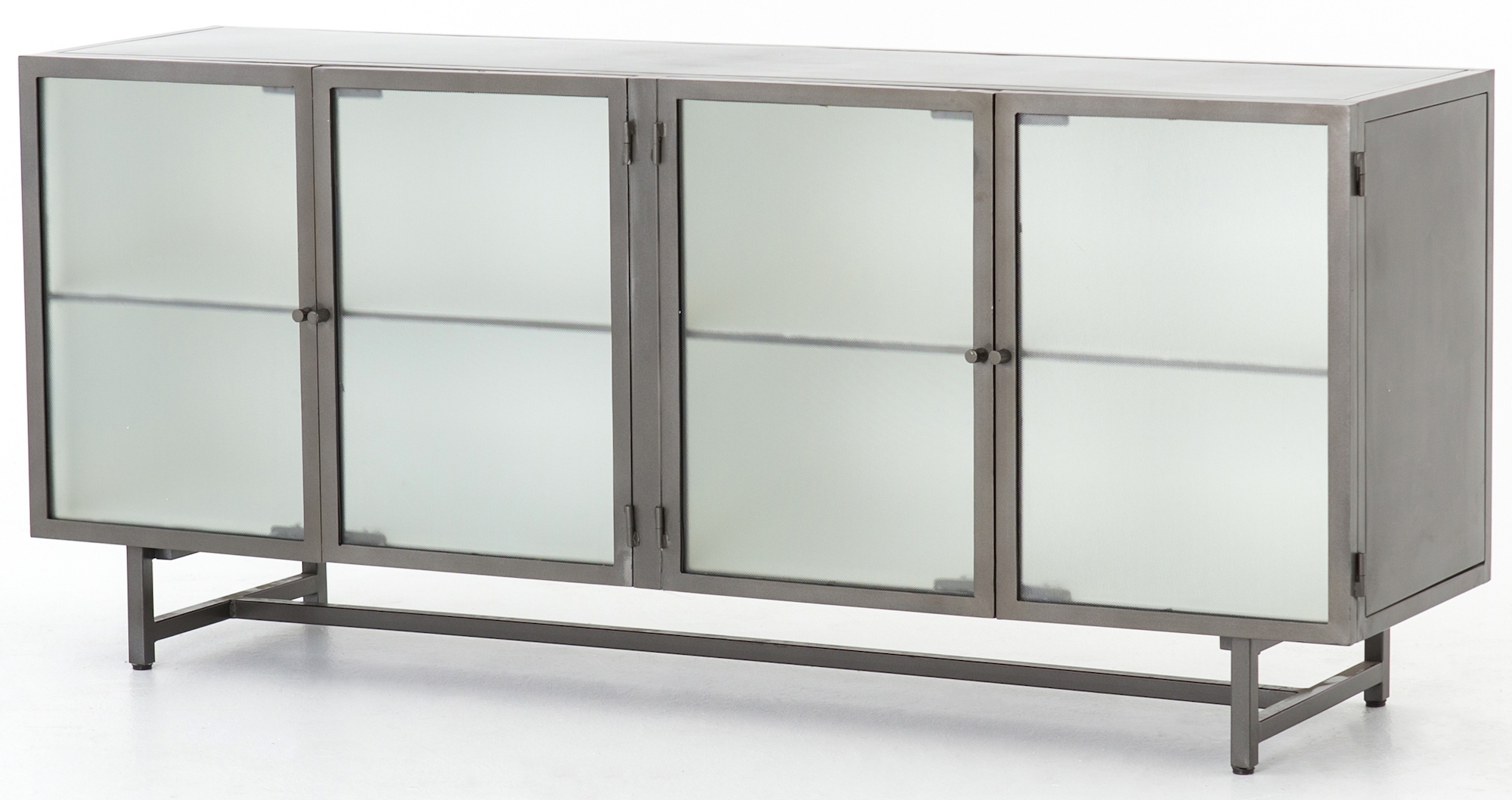 Cabinets, Consoles & Sofa Tables | Htgt Furniture throughout Gunmetal Perforated Brass Sideboards (Image 10 of 30)