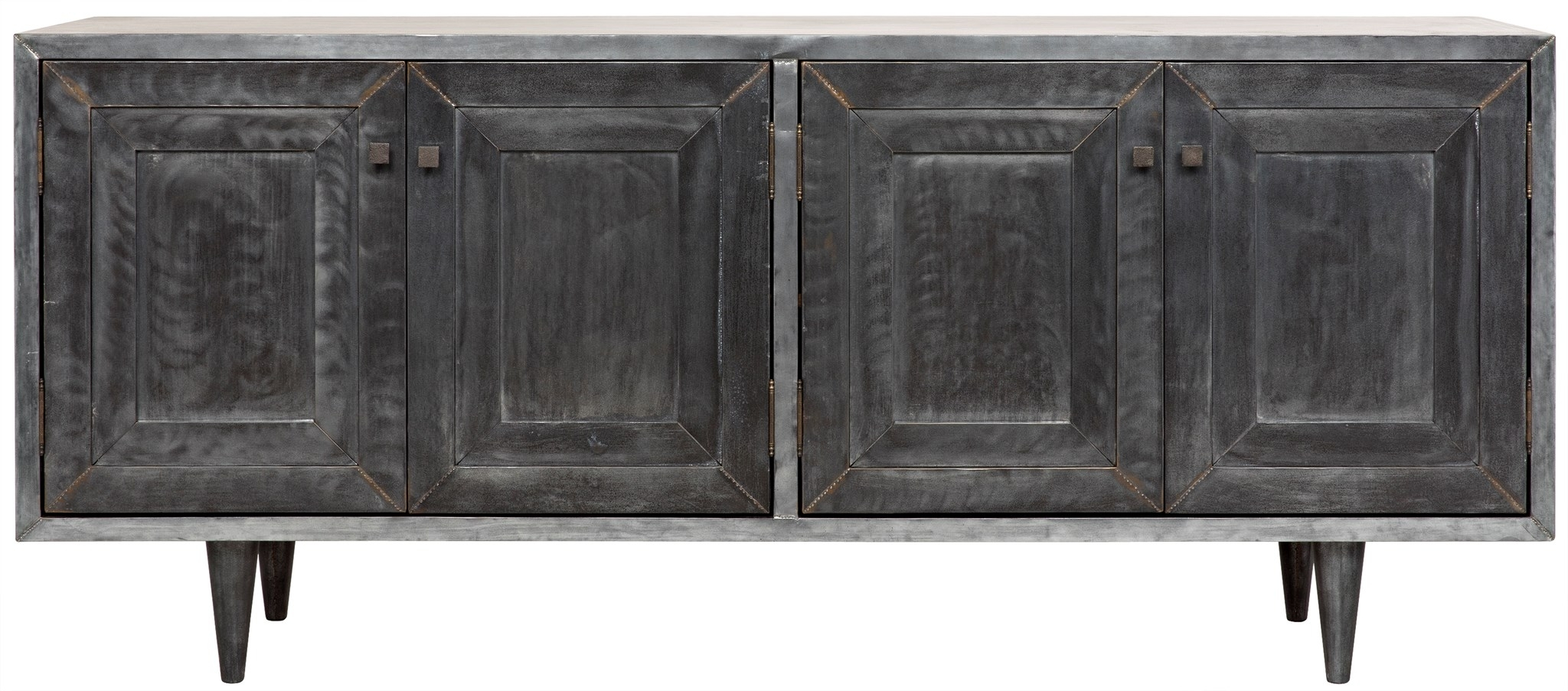 Cabinets, Consoles & Sofa Tables | Htgt Furniture with Gunmetal Perforated Brass Sideboards (Image 11 of 30)