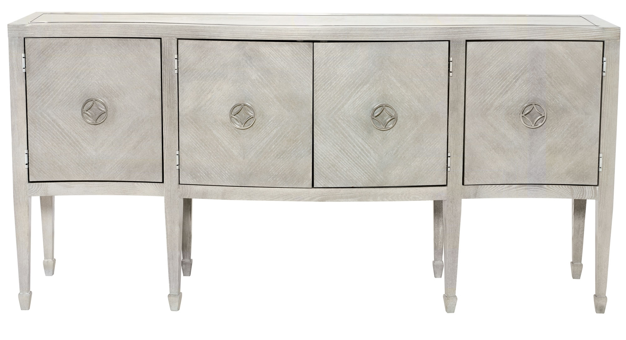 Cabinets, Consoles & Sofa Tables | Htgt Furniture with regard to Gunmetal Perforated Brass Sideboards (Image 13 of 30)