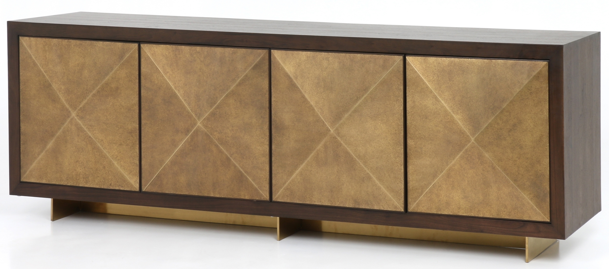 Cabinets, Consoles & Sofa Tables | Htgt Furniture with regard to Gunmetal Perforated Brass Sideboards (Image 12 of 30)