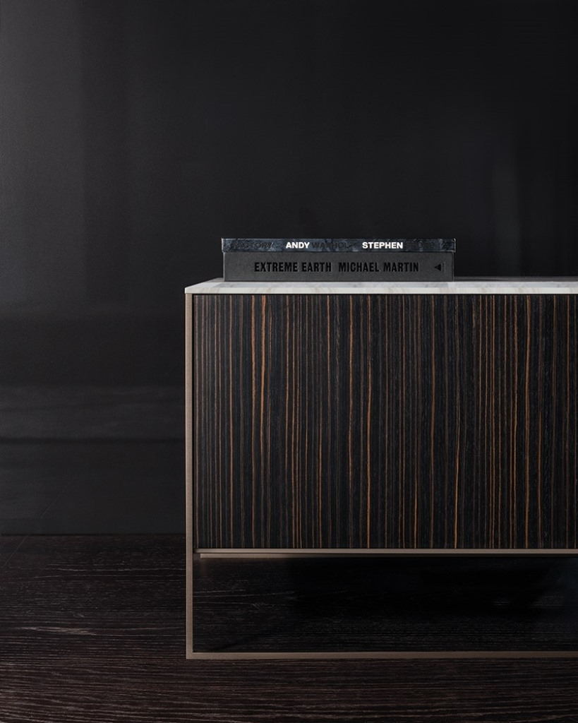 Calder Bronze Sideboard - Minotti | Dedece throughout Parrish Sideboards (Image 10 of 30)