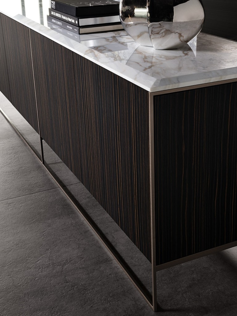 Calder Bronze Sideboard - Minotti | Dedece within Parrish Sideboards (Image 11 of 30)