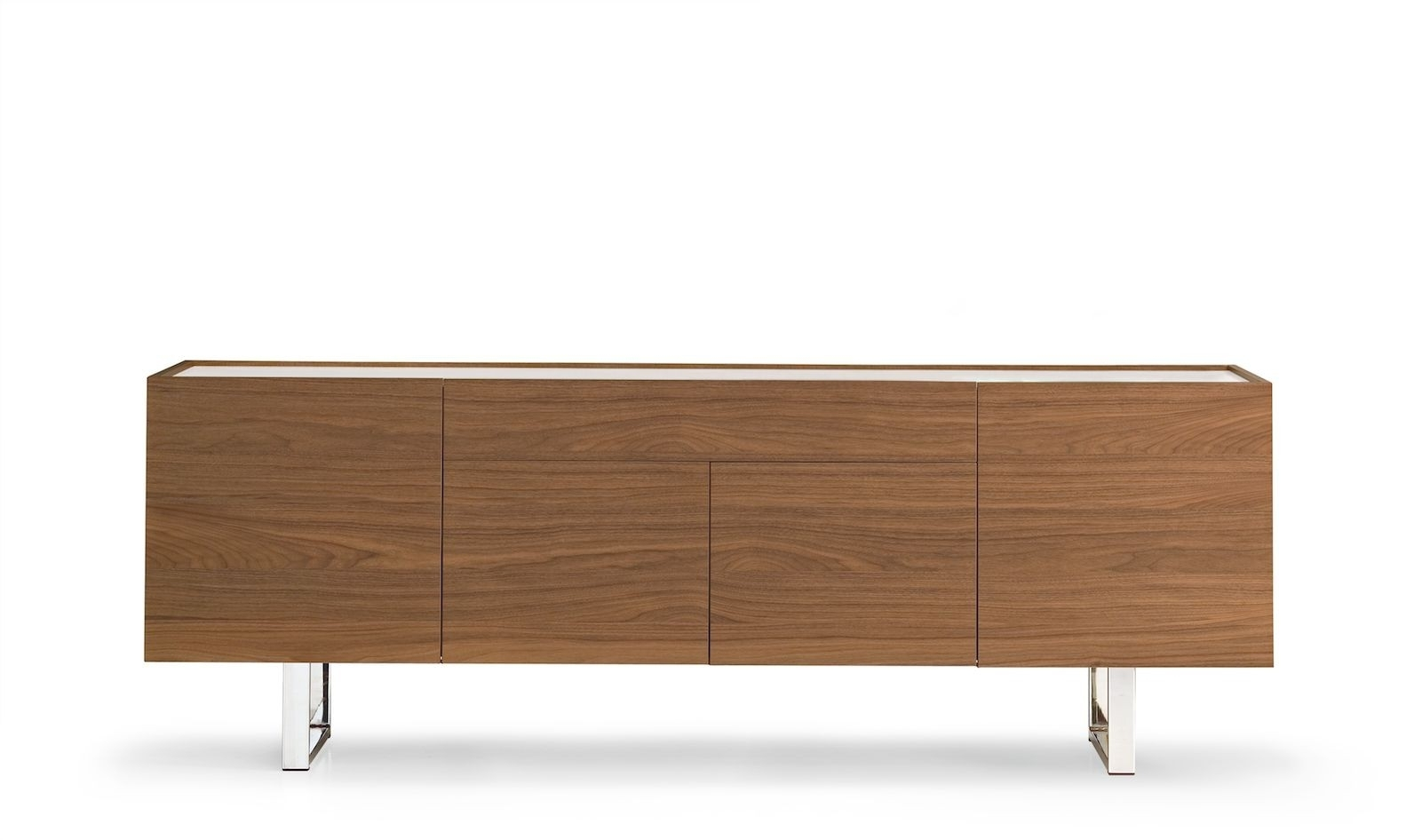 Calligaris Horizon 4 Door With Central Drawer Sideboard – Frank Mc Gowan throughout 4-Door 4-Drawer Metal Inserts Sideboards (Image 10 of 30)