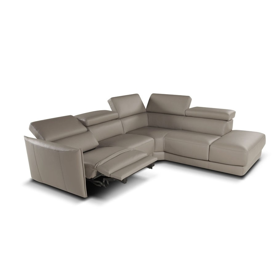 Camilion Leather (Or Fabric) Sofa / Sectional / Sleepergiuseppe throughout Lucy Grey 2 Piece Sectionals With Raf Chaise (Image 7 of 30)