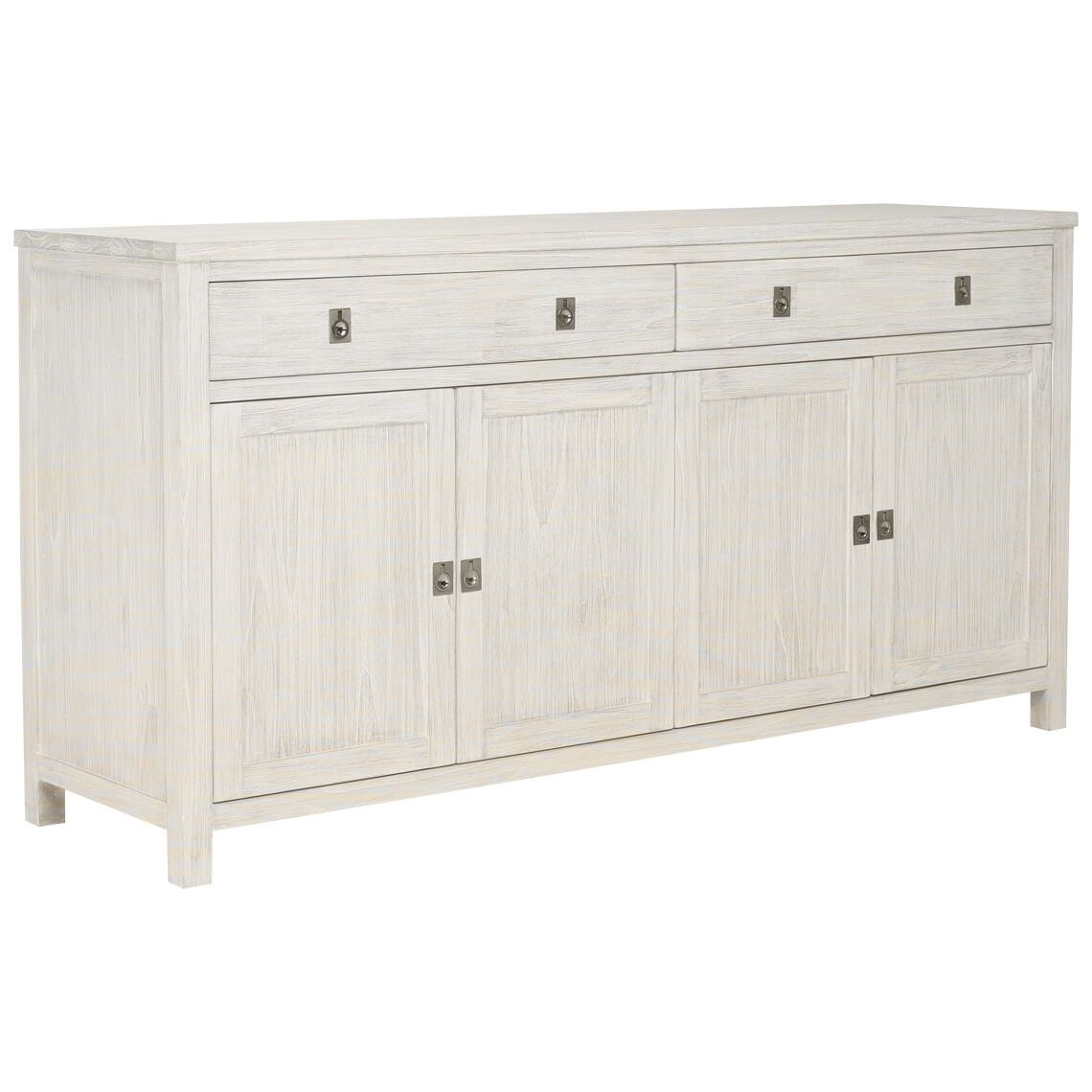 Cancun Buffet | Freedom Throughout 4 Door 3 Drawer White Wash Sideboards (View 11 of 30)