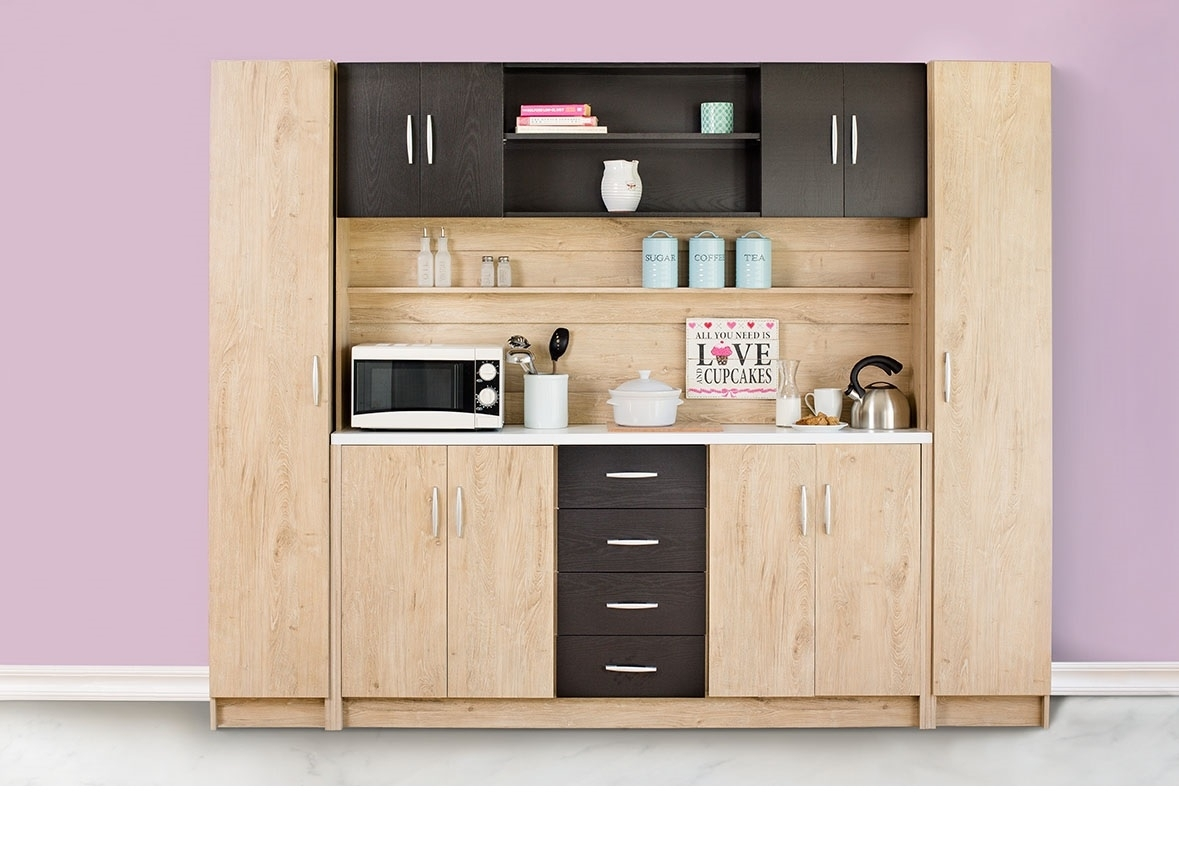 Candice 4Pc Kitchen Unit – Fair Price with regard to Candice Ii Sideboards (Image 5 of 30)
