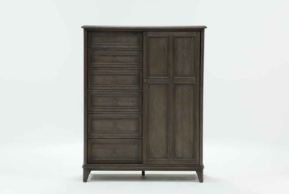 Candice Ii Sliding Door Gentlemans Chest | Living Spaces in Candice Ii Sideboards (Image 13 of 30)