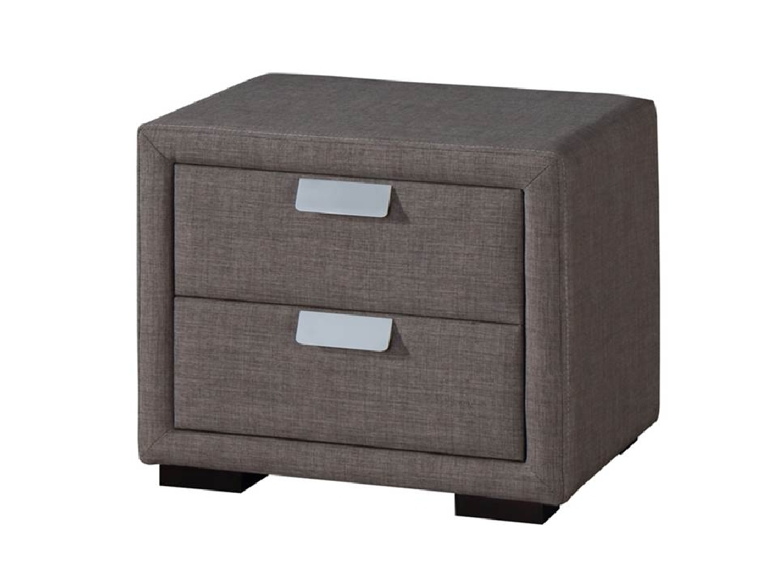 Caren Bedside Table - Jar Furniture with regard to Jaxon Grey Sideboards (Image 4 of 30)