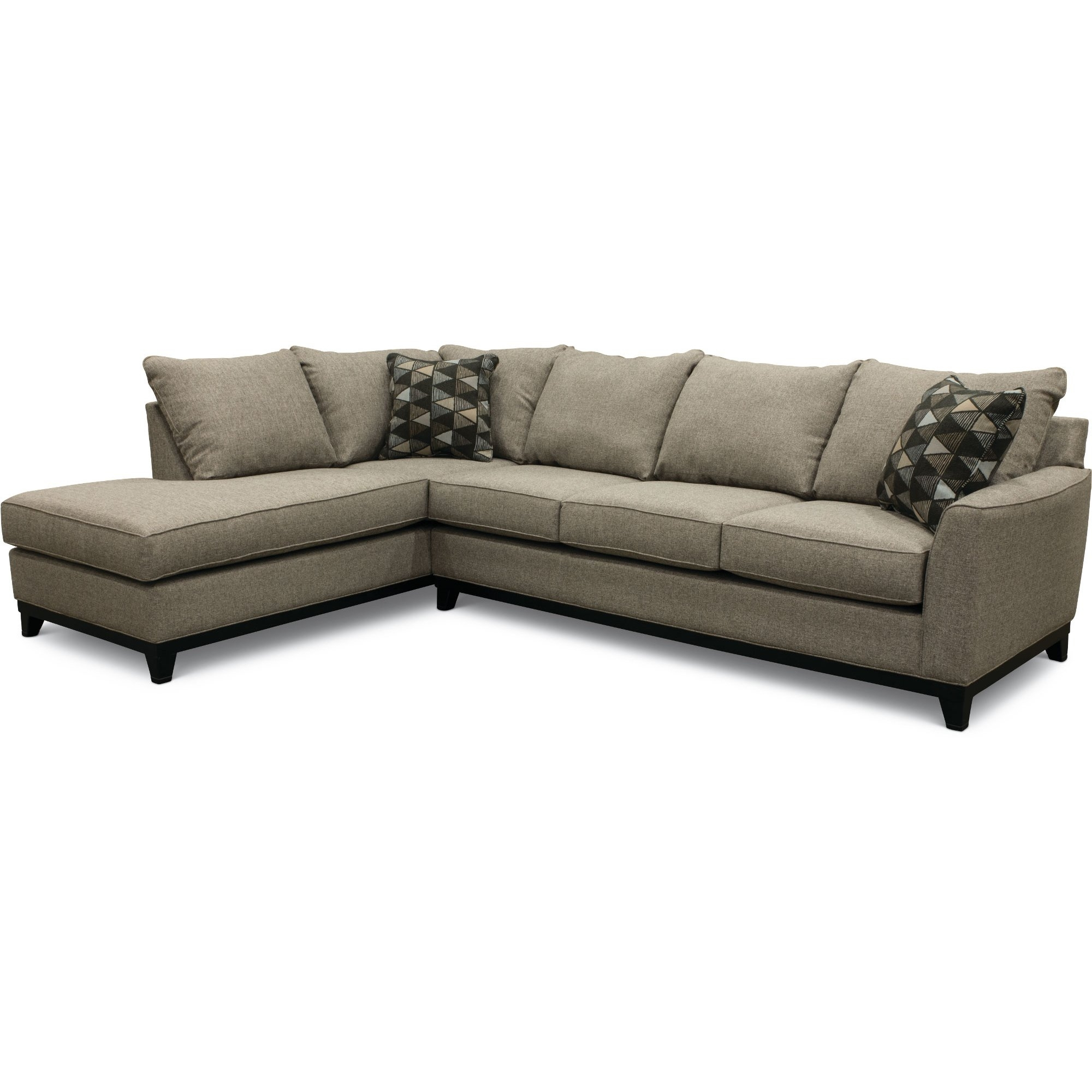 Casual Contemporary Slate Gray 2 Piece Sectional Sofa - Emerson | Rc pertaining to Cosmos Grey 2 Piece Sectionals With Laf Chaise (Image 6 of 30)