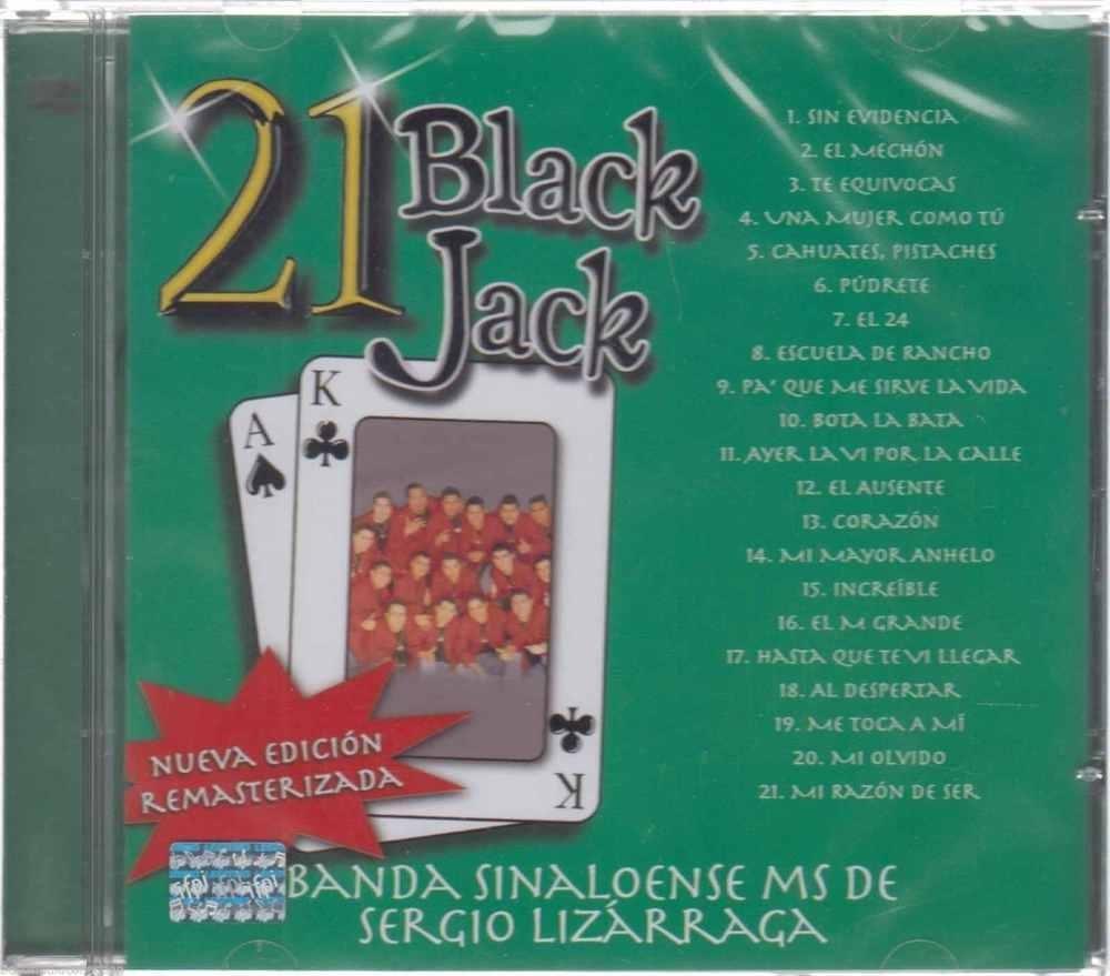Cd - Banda Sinaloense Ms De Sergio Lizarraga New 21 Black Jack Fast with Elm Grande Ii 2 Piece Sectionals (Image 9 of 30)