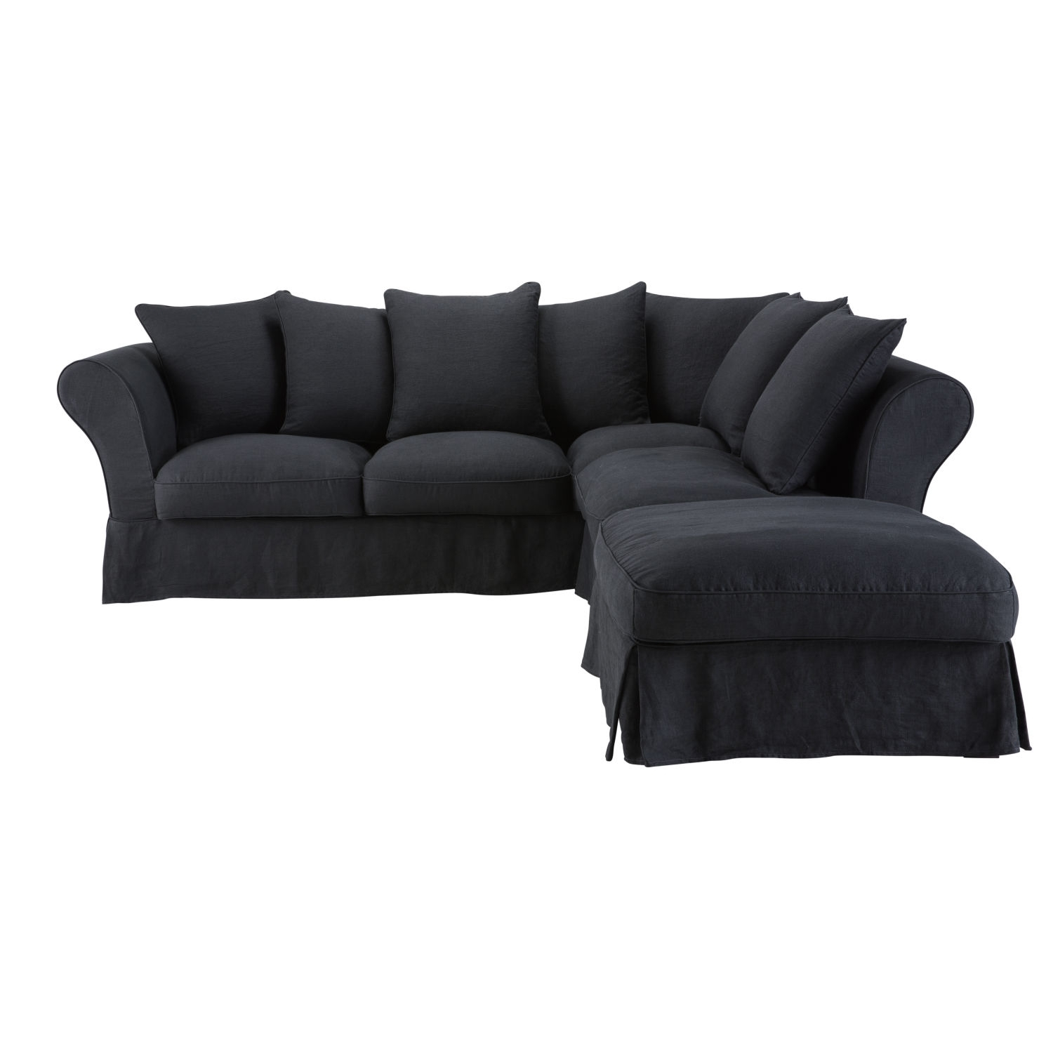 Charcoal Leather Corner Sofa - Sofa Design Ideas inside Denali Charcoal Grey 6 Piece Reclining Sectionals With 2 Power Headrests (Image 8 of 30)