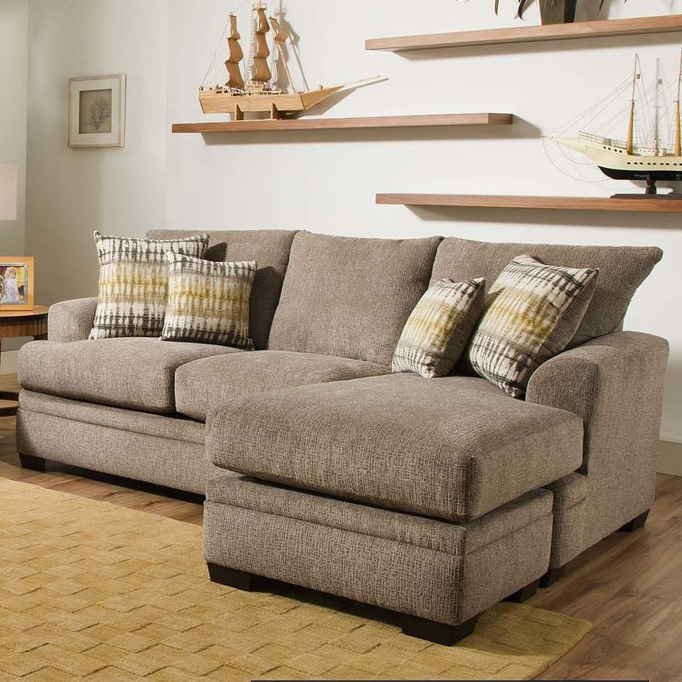 Charlton Home Homeland Reversible Sectional & Reviews | Wayfair In Collins Sofa Sectionals With Reversible Chaise (View 4 of 30)