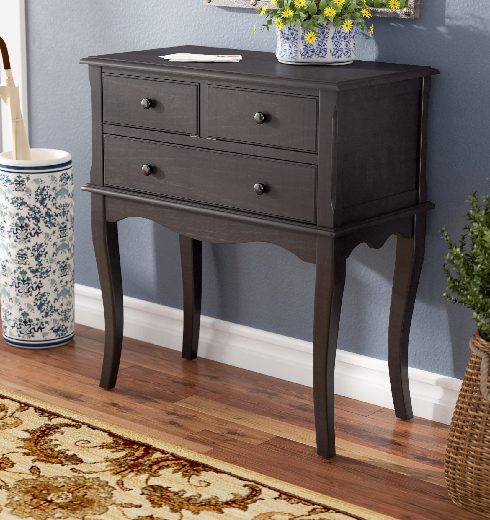 Charlton Home Trinway Console Table & Reviews | Wayfair pertaining to Moraga Live Edge 8 Door Sideboards (Image 17 of 30)