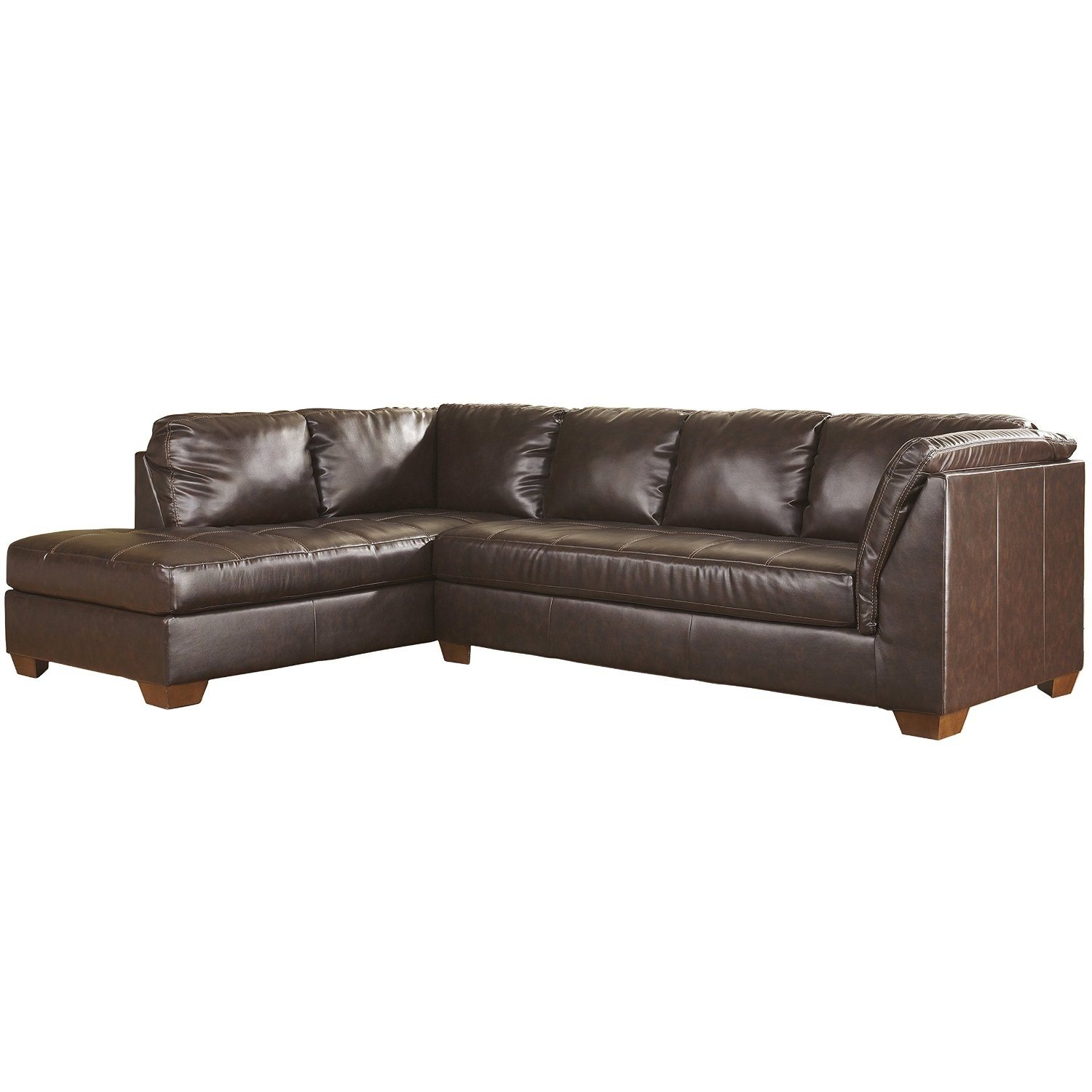 Cheap Ashley Furniture Sectional Sofas, Find Ashley Furniture In Delano 2 Piece Sectionals With Laf Oversized Chaise (View 26 of 30)
