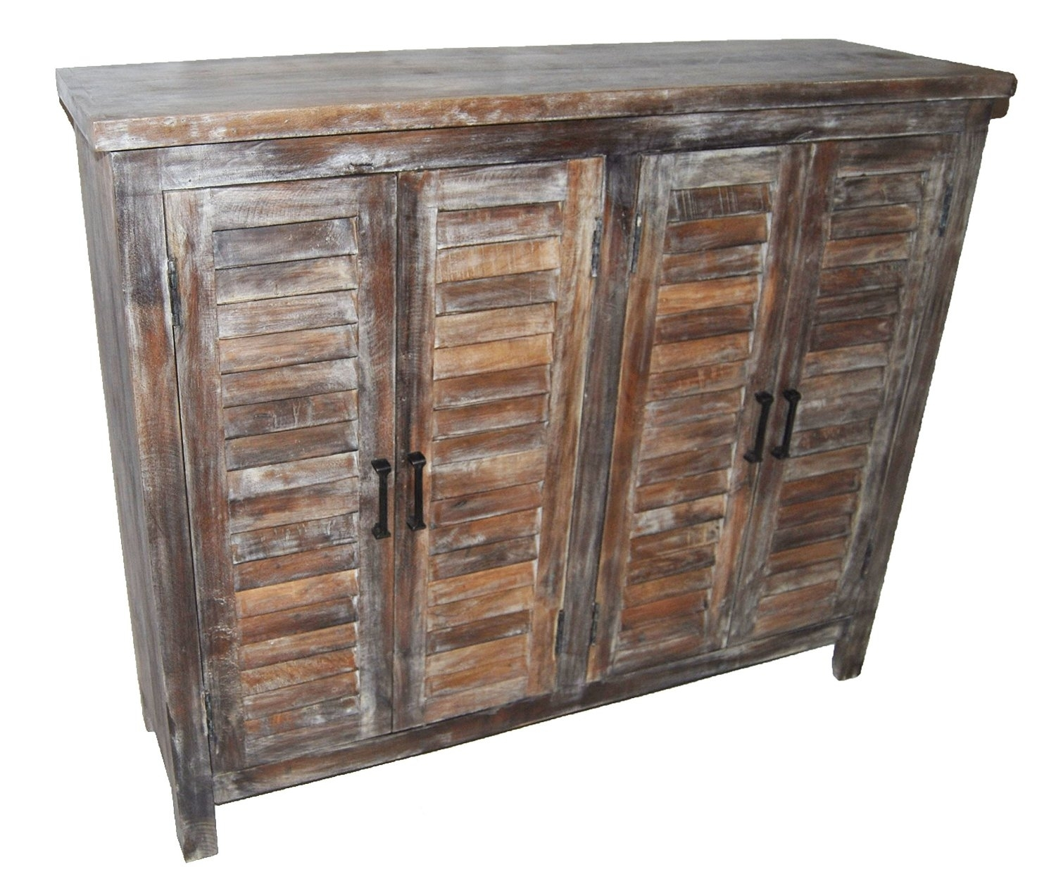 Cheap Reclaimed Sideboard, Find Reclaimed Sideboard Deals On Line At intended for White Wash 4-Door Galvanized Sideboards (Image 4 of 30)