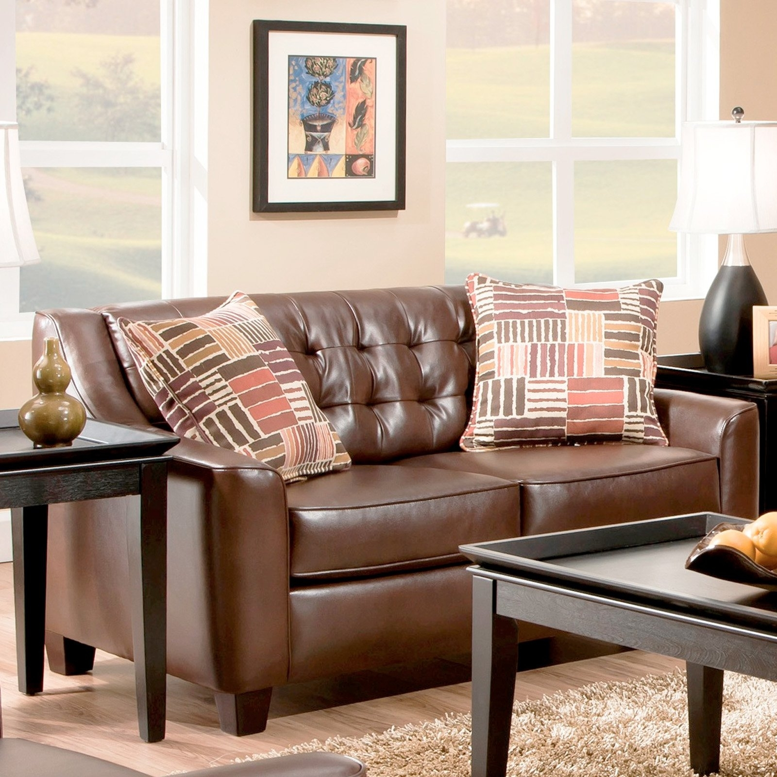 Chelsea Home Furniture Josephine Loveseat - Walmart throughout Josephine 2 Piece Sectionals With Raf Sofa (Image 5 of 30)