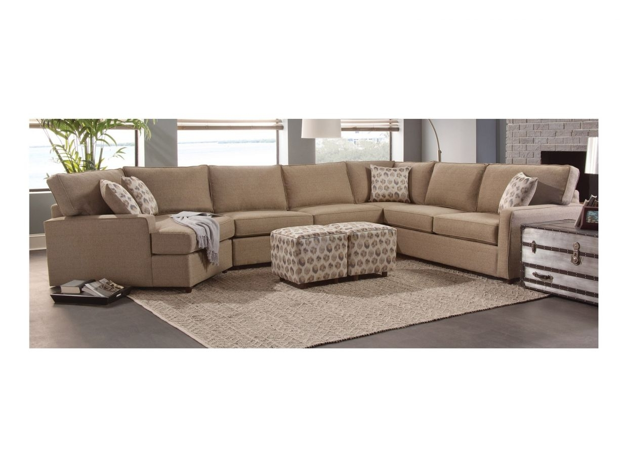 Chelsea Home Maple 2Pc Sectional Living Room Set In Vibrant Seaside within Avery 2 Piece Sectionals With Laf Armless Chaise (Image 7 of 30)