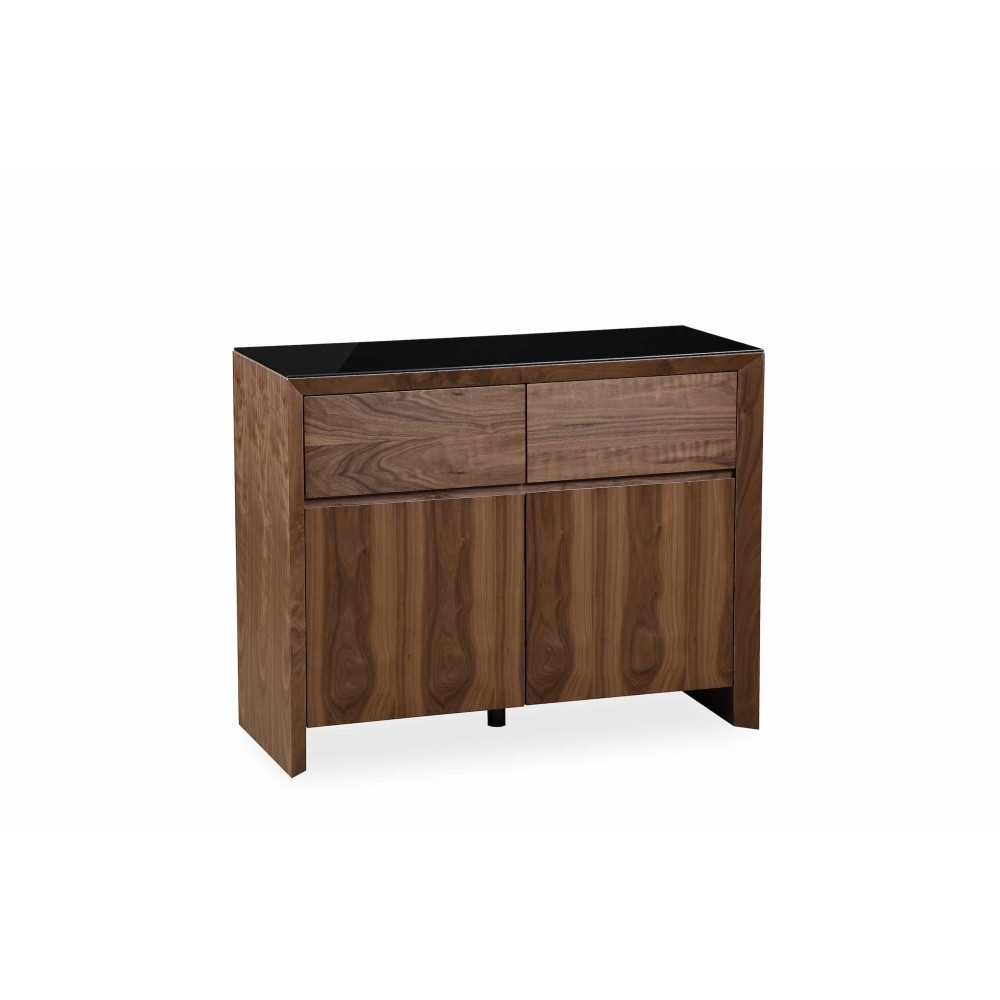 Chic Walnut - Small Sideboard inside Walnut Small Sideboards (Image 8 of 30)