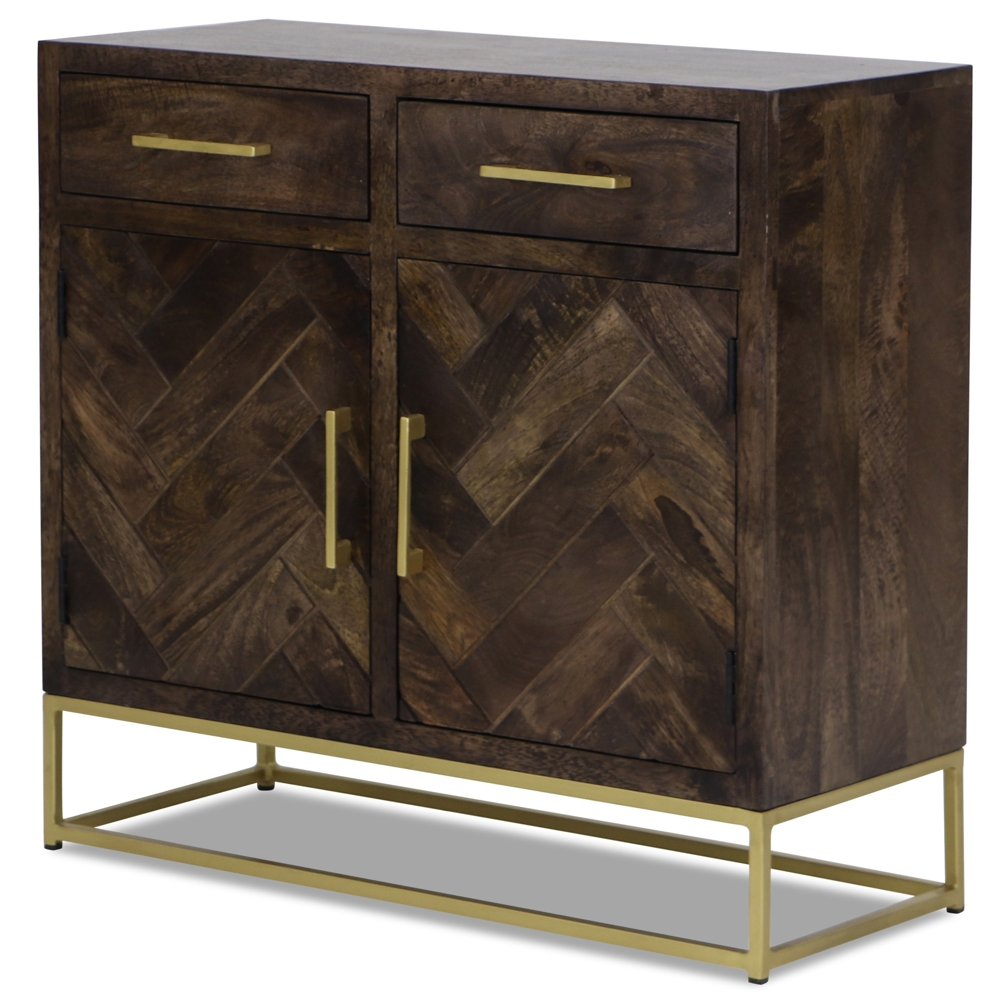 Chiyo Sideboard | Furniture & Home Décor | Fortytwo within Vintage Brown Textured Sideboards (Image 5 of 30)