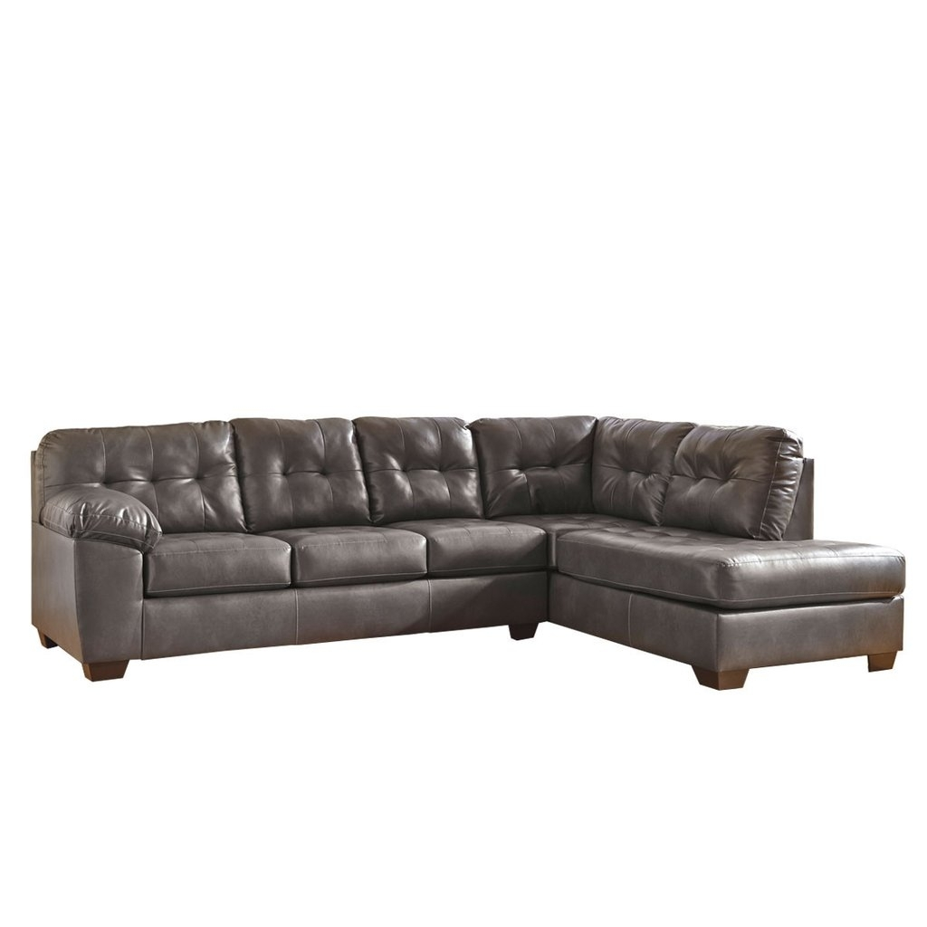 Choosing 2 Piece Sectional Sofa - Elites Home Decor pertaining to Evan 2 Piece Sectionals With Raf Chaise (Image 9 of 30)