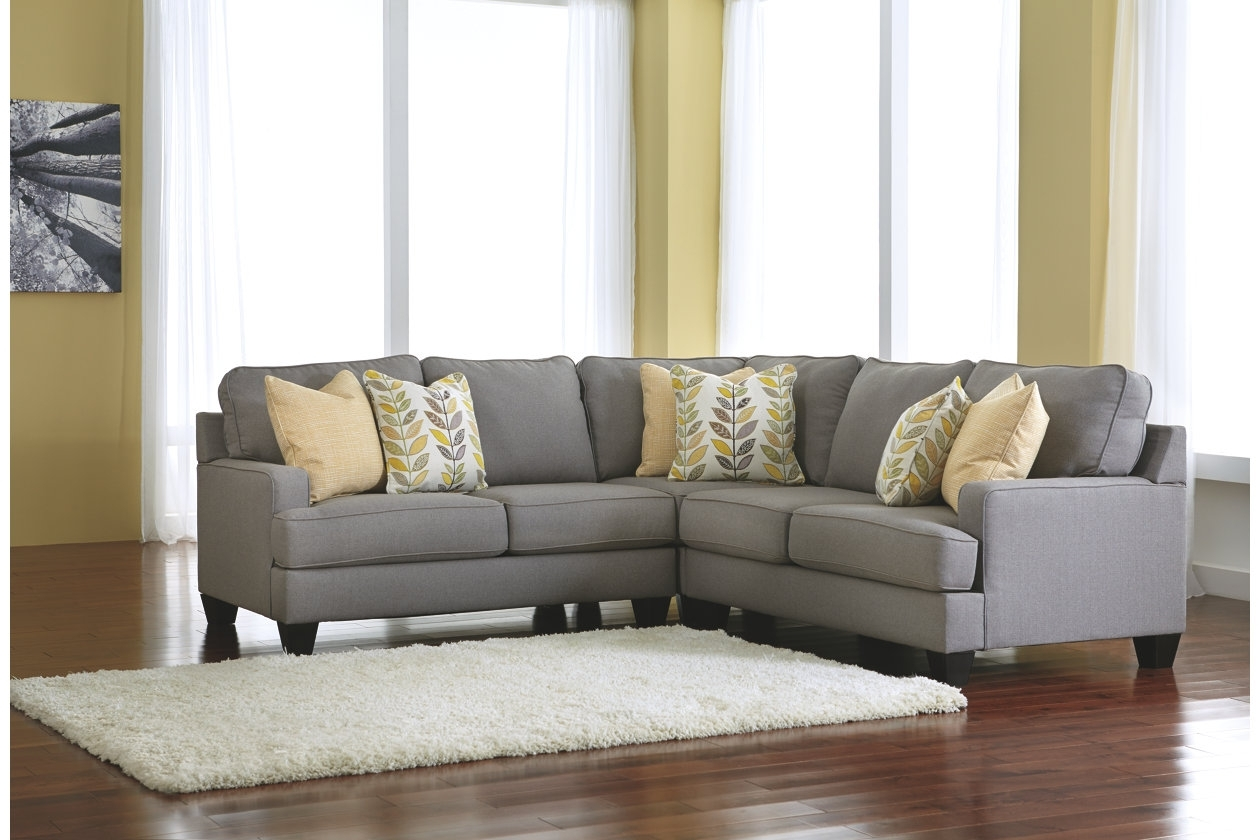 Cindy Crawford Home Calvin Heights Indigo 2 Pc Sectional With Regard To Sierra Down 3 Piece Sectionals With Laf Chaise (View 8 of 30)