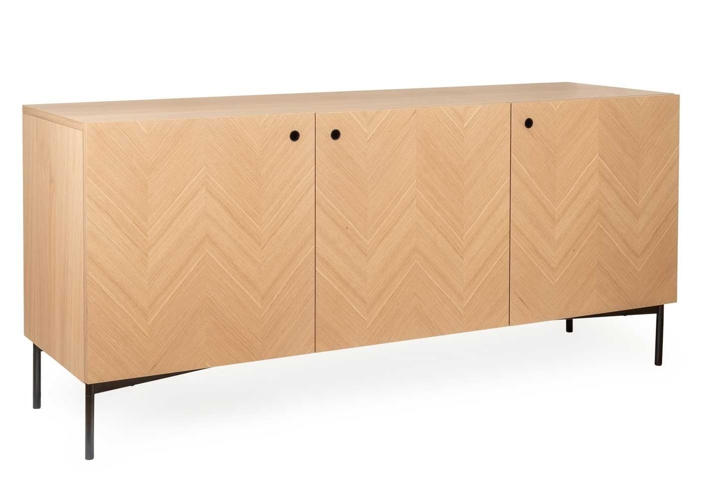 Clifton Sideboard pertaining to Brown Chevron 4-Door Sideboards (Image 11 of 30)