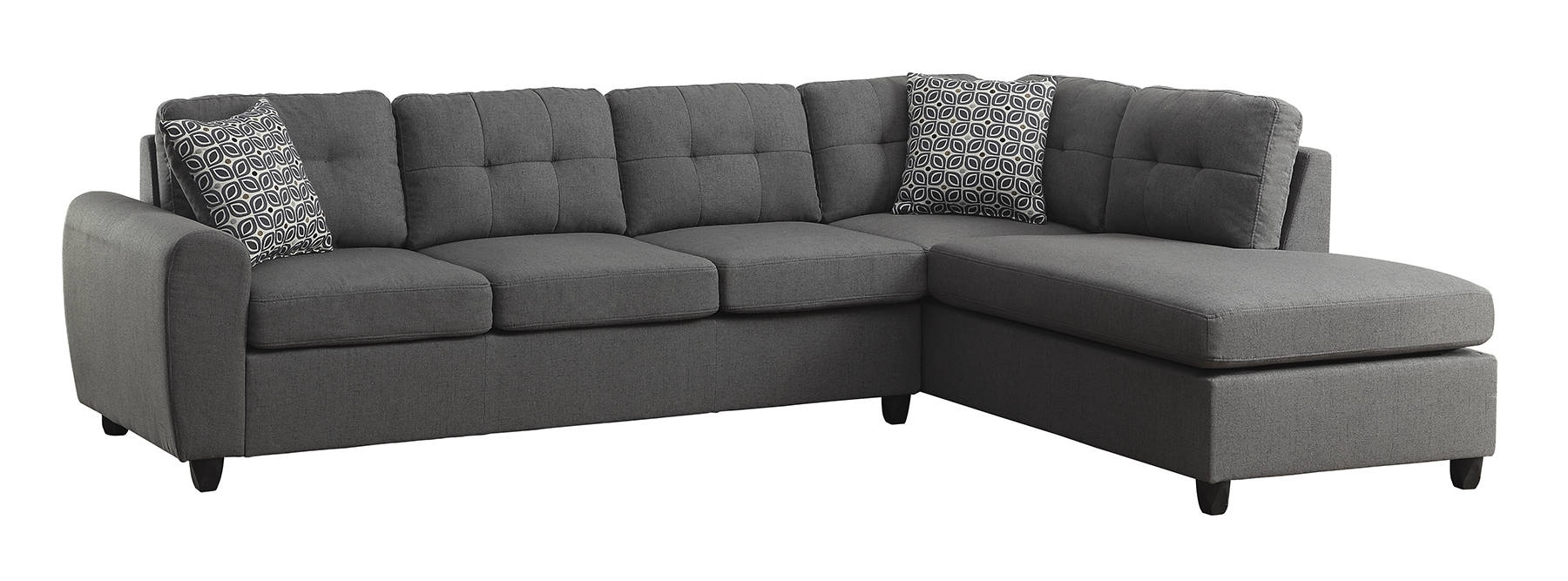 Coaster Furniture Stonenesse Sectional | The Classy Home throughout Evan 2 Piece Sectionals With Raf Chaise (Image 9 of 30)