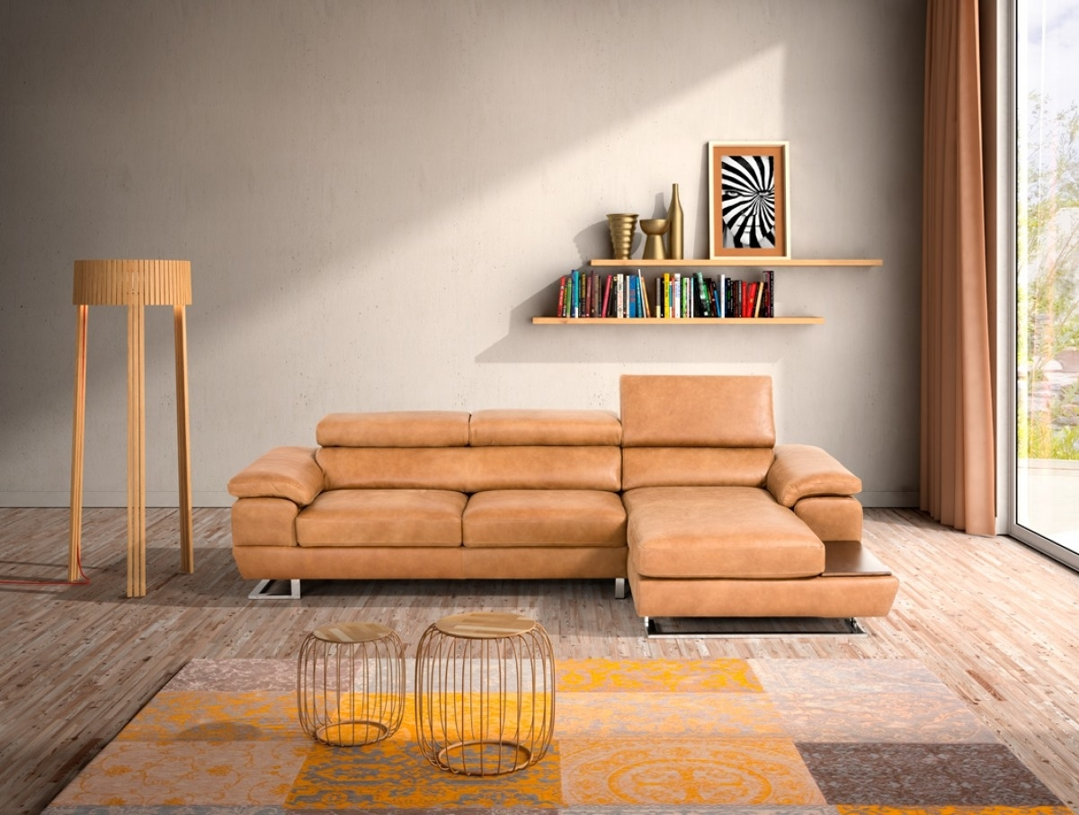 Cognac Sectional Sofa @ay13 – Roccommunity intended for Tenny Cognac 2 Piece Right Facing Chaise Sectionals With 2 Headrest (Image 9 of 30)