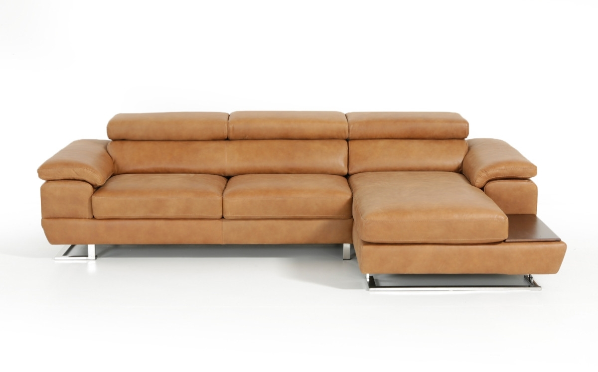 Cognac Sectional Sofa @ay13 – Roccommunity intended for Tenny Dark Grey 2 Piece Right Facing Chaise Sectionals With 2 Headrest (Image 10 of 30)