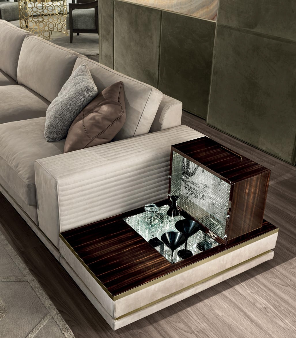 Cohen High-End Italian Sofa - Italian Designer & Luxury Furniture At in Cohen Down 2 Piece Sectionals (Image 3 of 30)